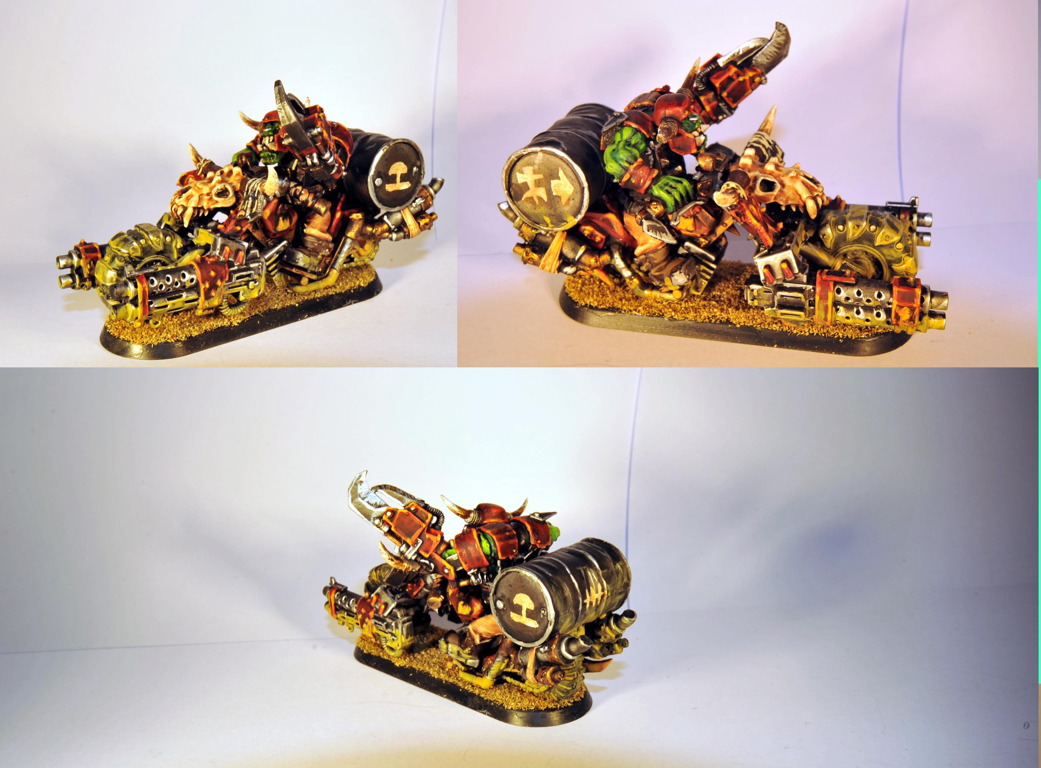 Bike, Evil Sunz, Freaks, Freeks, Nob, Orks, Speed, Warbike
