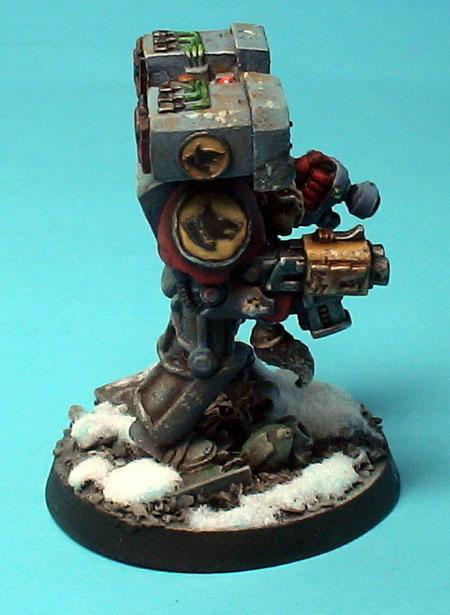 Snow, Space Wolves, Terminator Armor, Warhammer 40,000, Wolf Guard In Tda