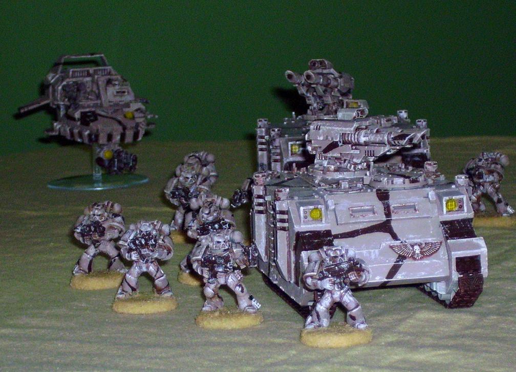 Space Marines, Desert Space Marine Tactical Squad