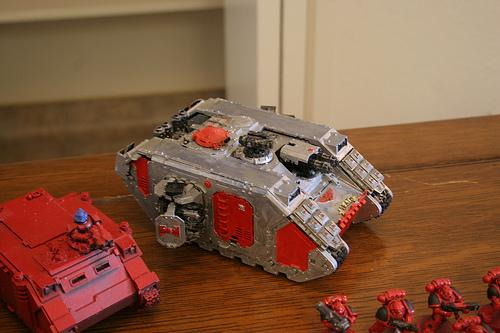 Land Raider, this is the item i was getting in the trade