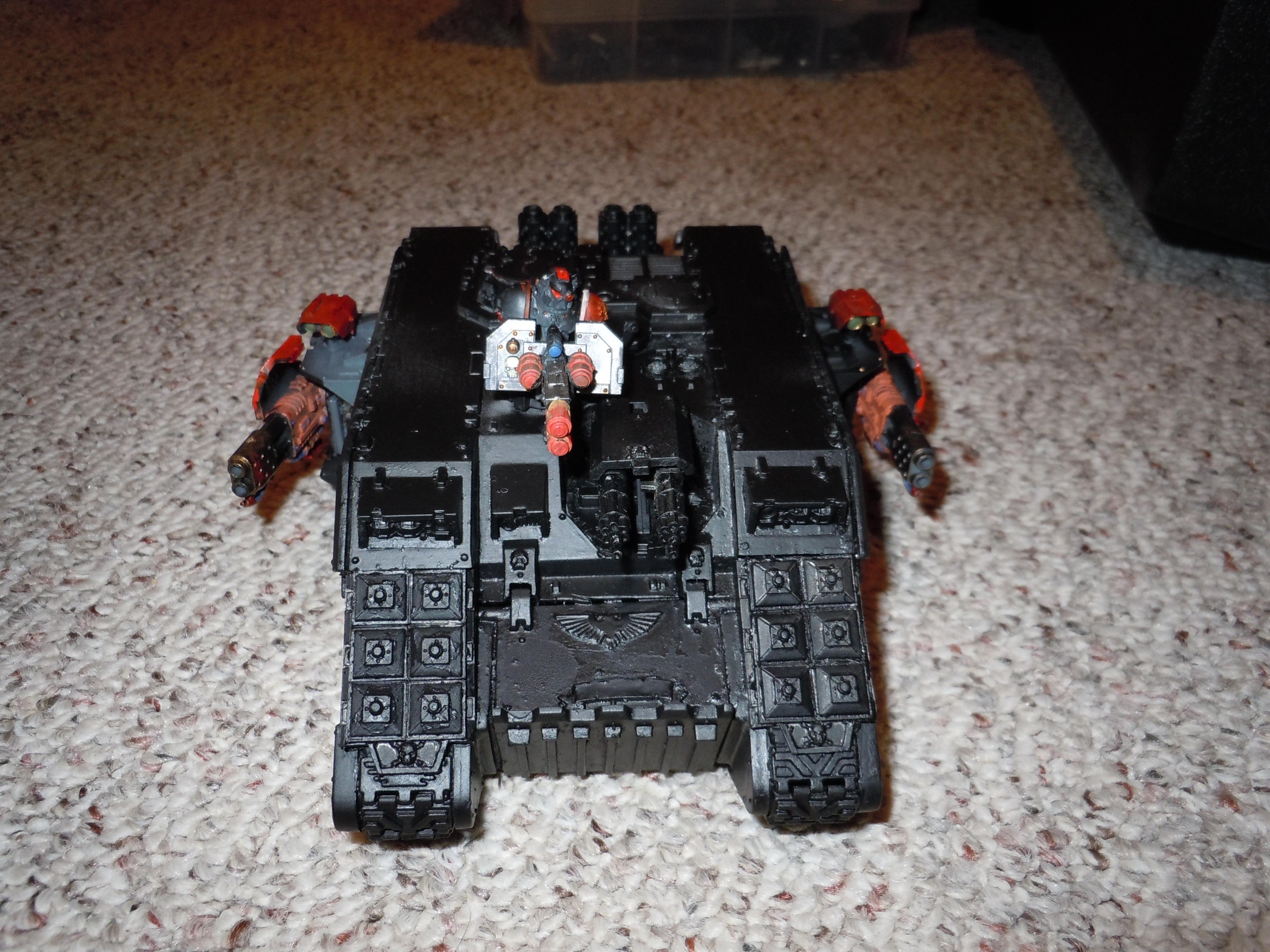land raider with redeemer setup