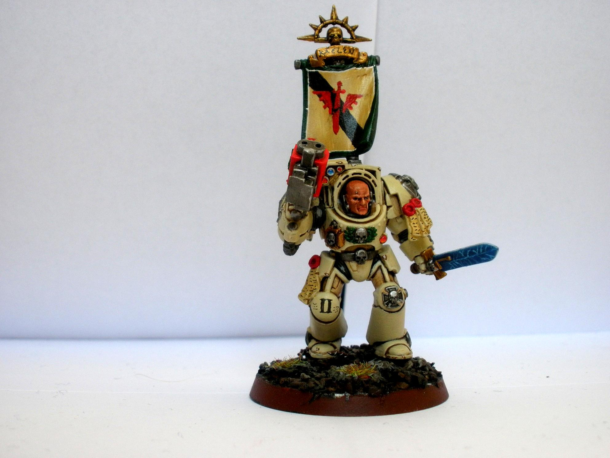Sergeant, Space Marines
