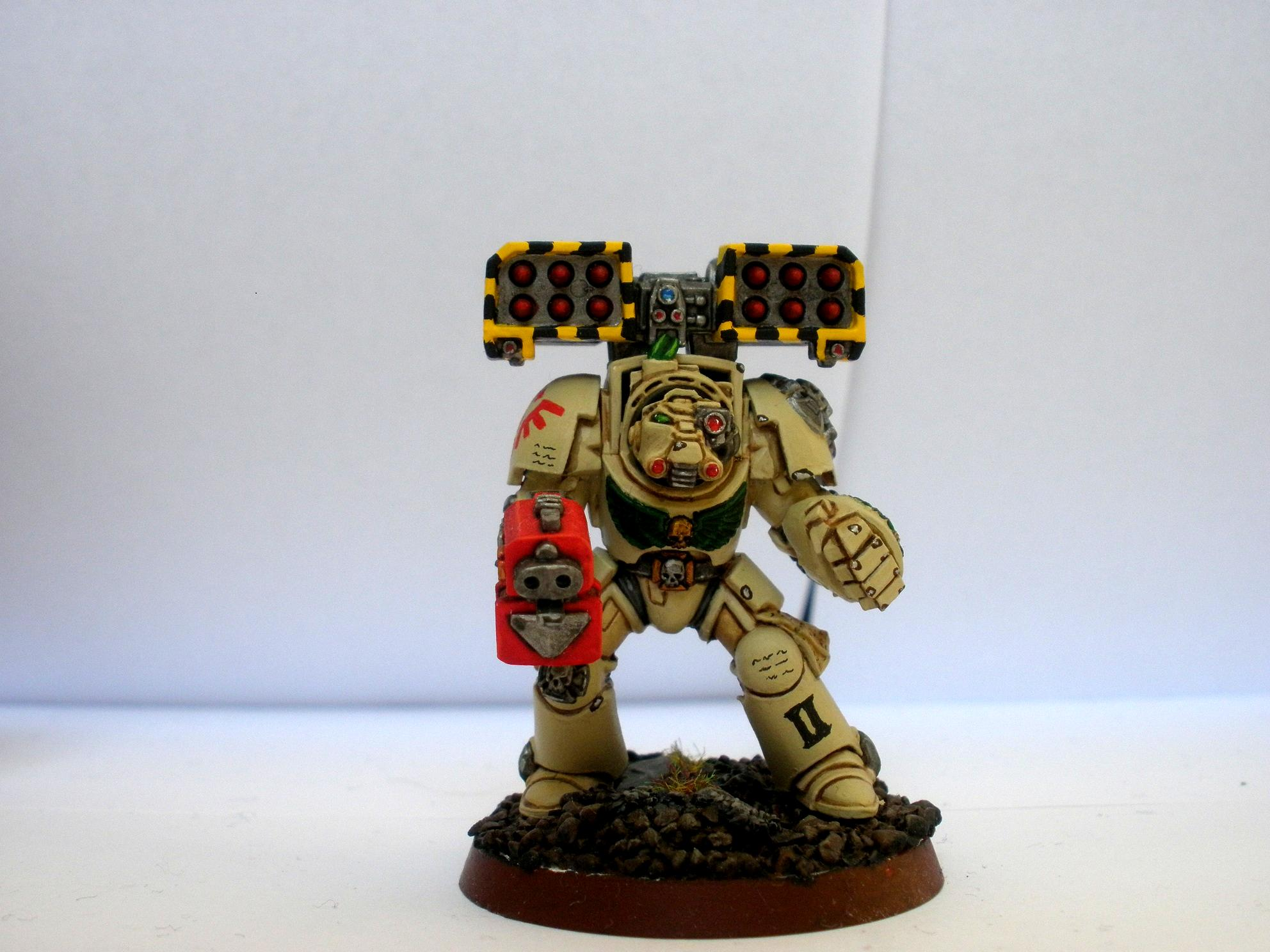 Cyclone Missile Launcher, Deathwing Terminator