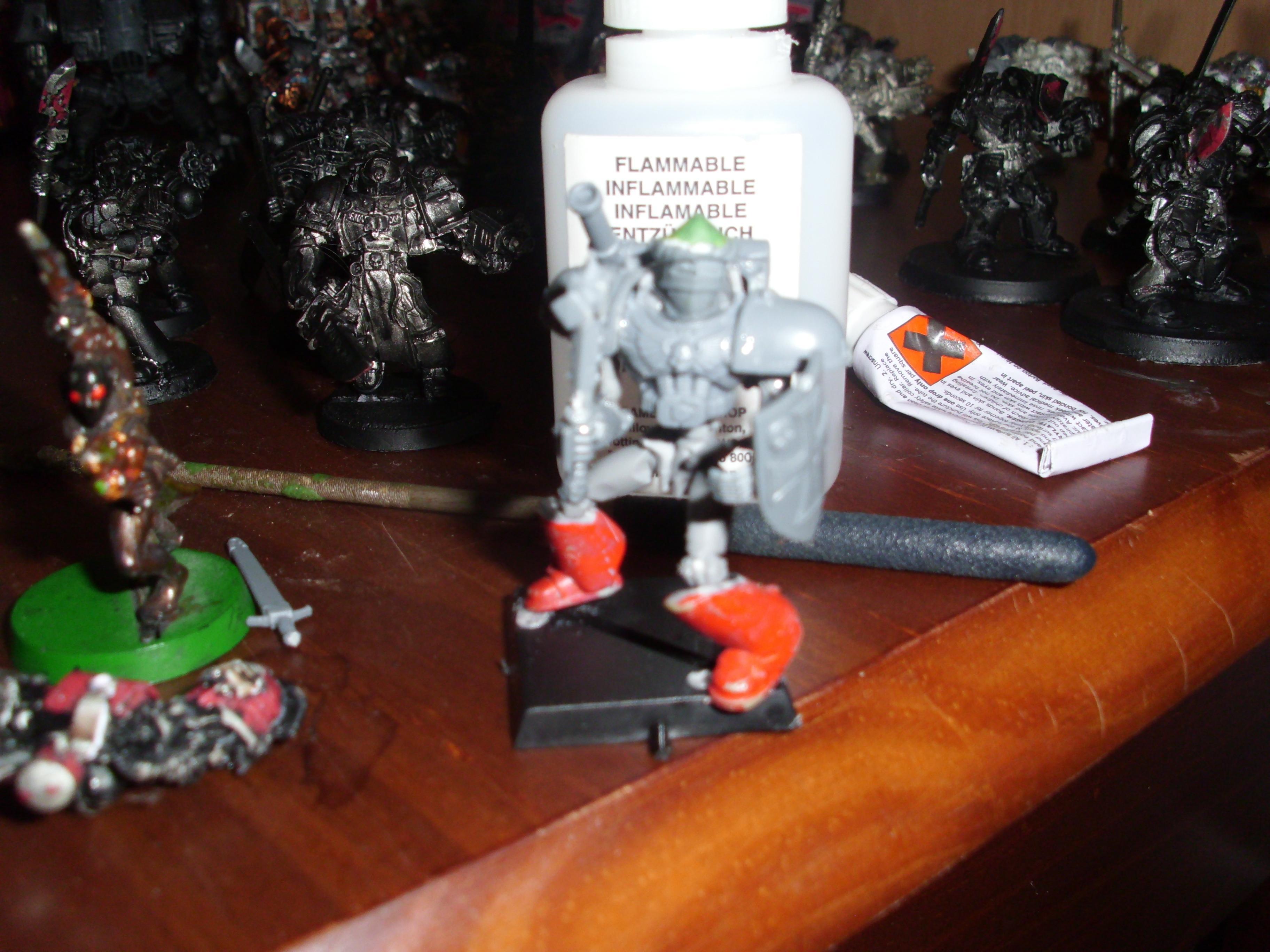 Mechanical, Mechanical Warrior Front