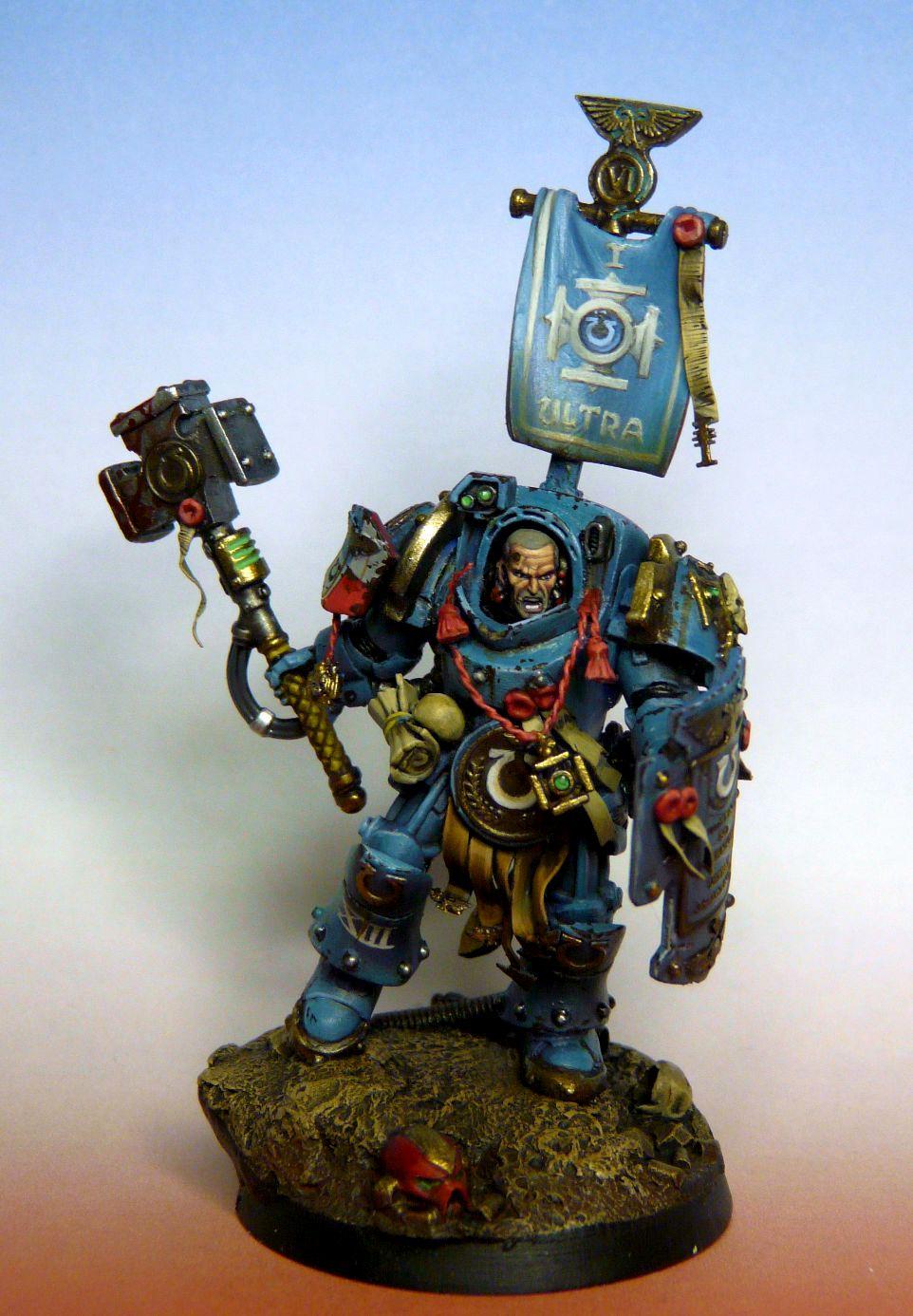 Terminator Armor, True Scale, Ultramarines