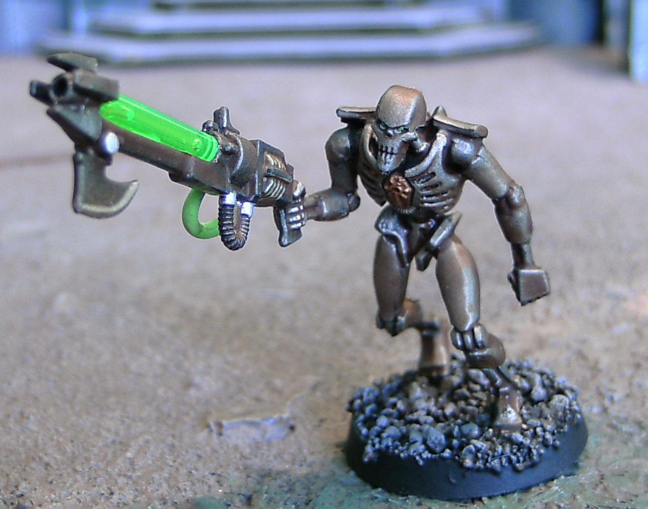 Gauss, Necrons, Ouze, Rifle, Warhammer 40,000, Warriors