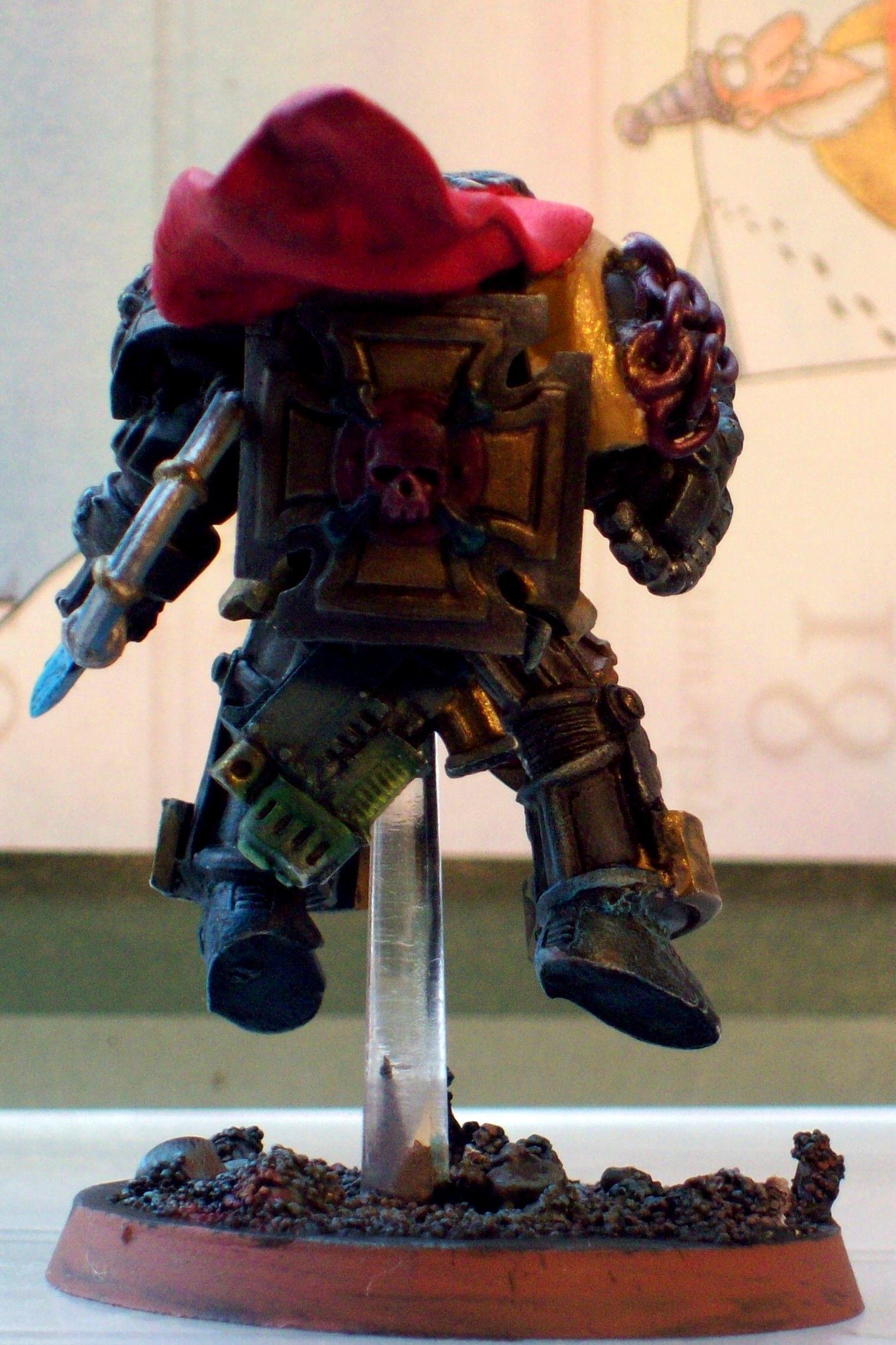 Librarian, Nifty, Terminator Armor