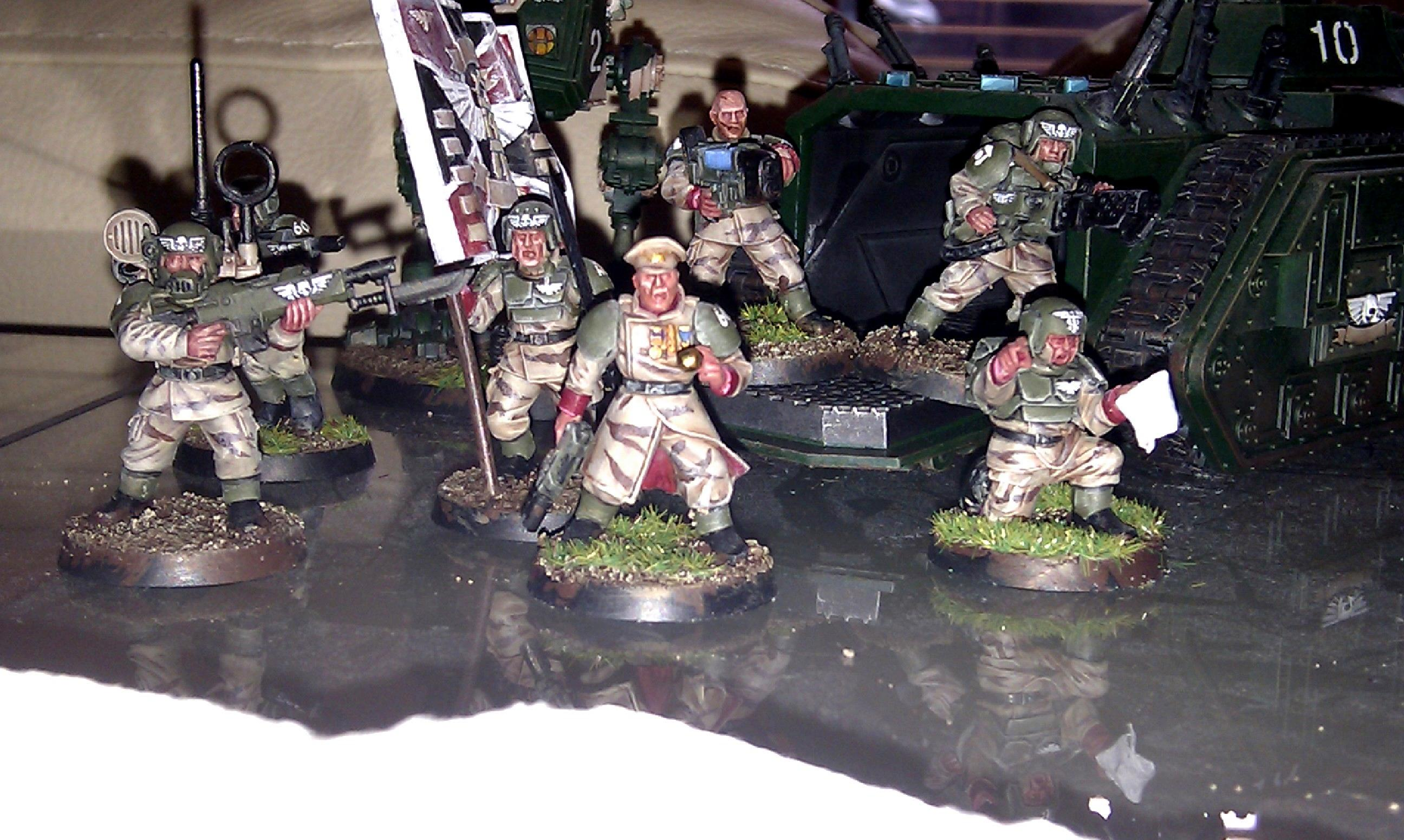 Cadians, Imperial Guard, Work In Progress