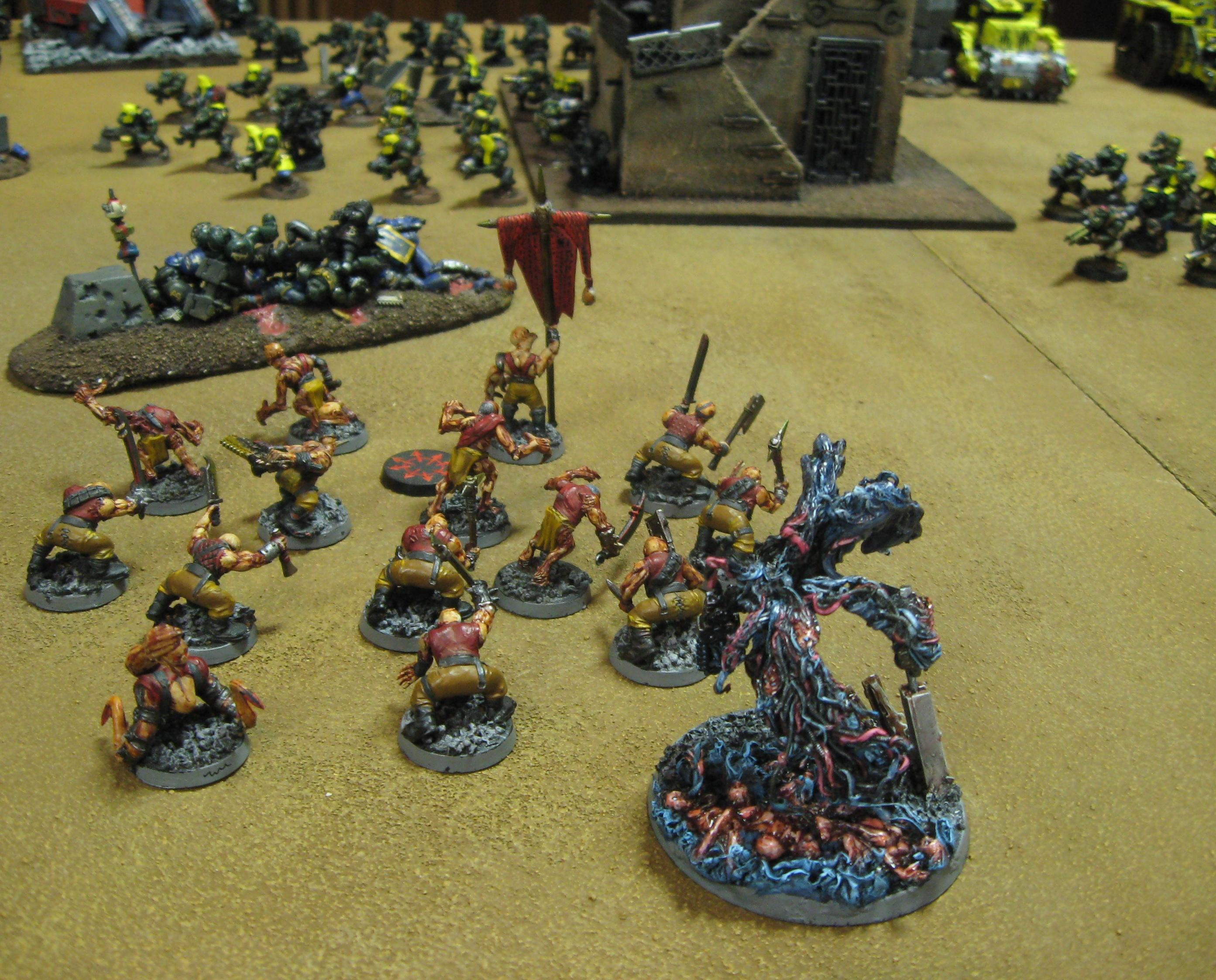 Battle Report, Daemons, Harrowed, Orks