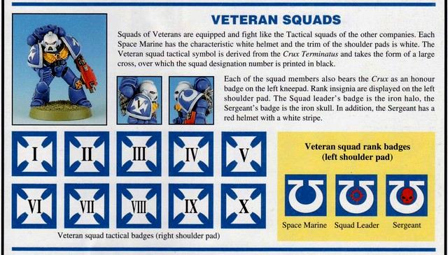 Codex Astartes Copyright Games Workshop Space Marines Veteran