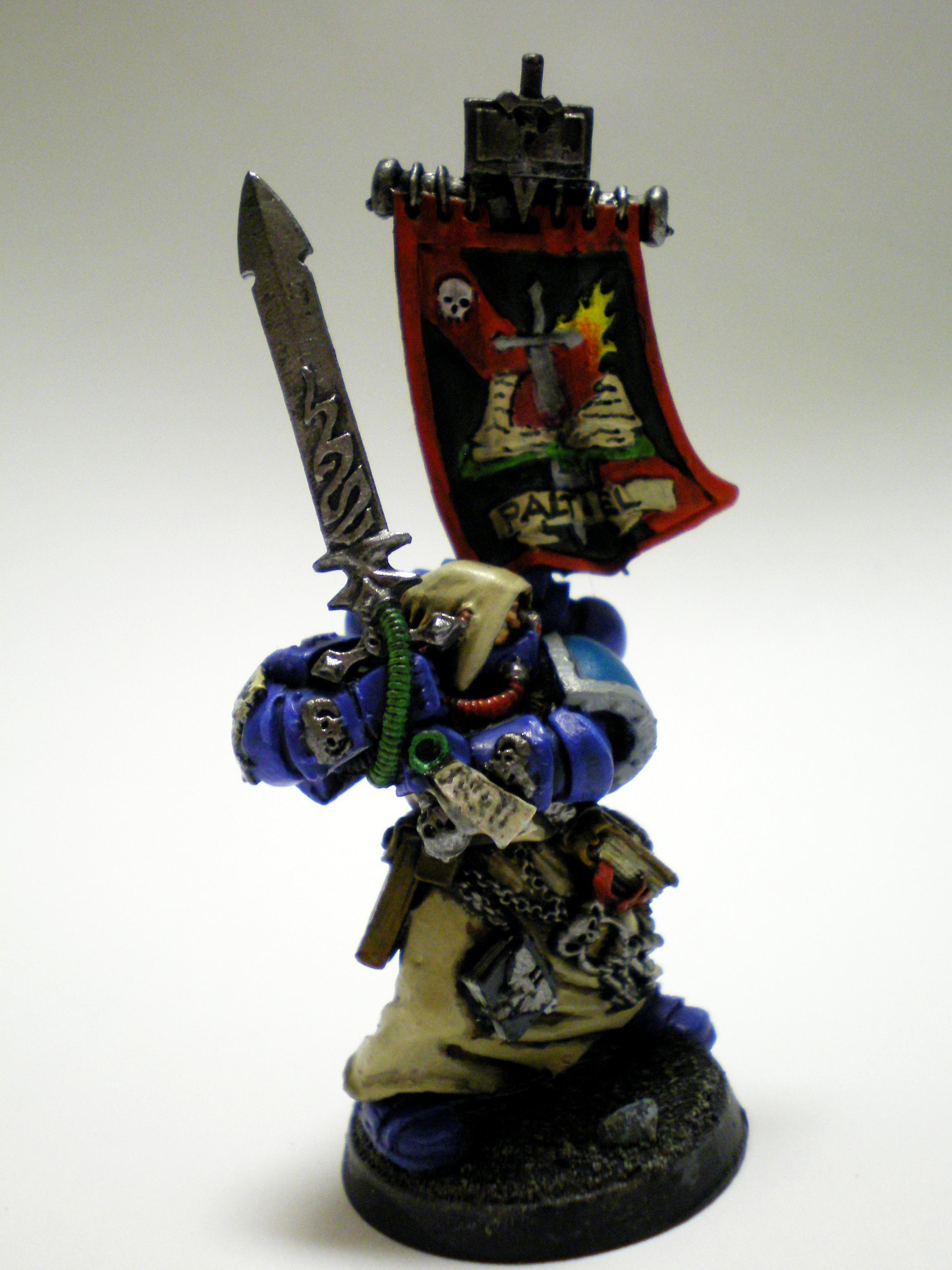 Ezekiel, Librarian, Space Marines, Warhammer 40,000