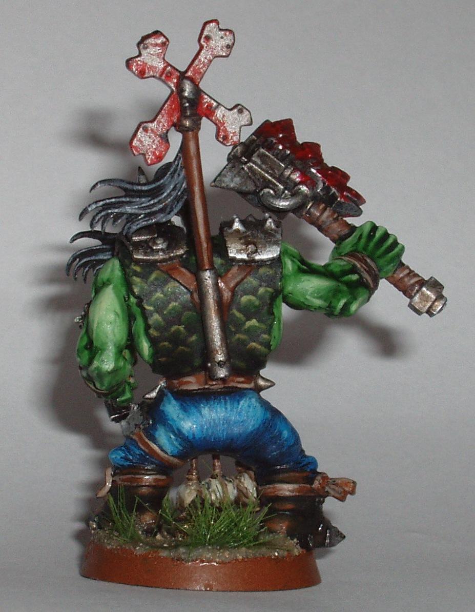 Nob, Orks, Painted Miniatures, Warhammer 40,000