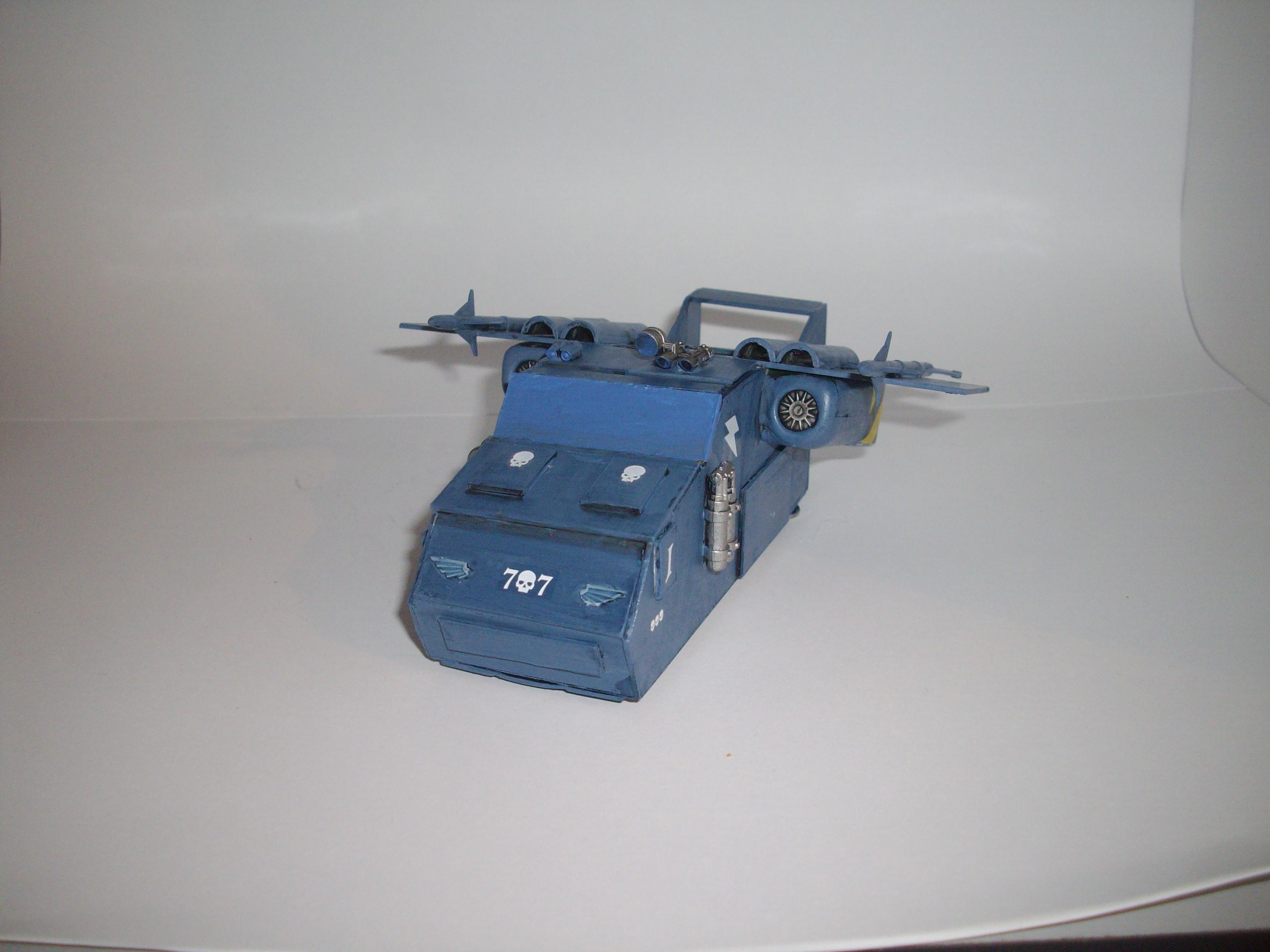 Guard, Scratch Build, Skimmer, Vehicle