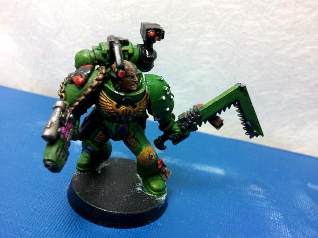 Mantis Warriors, Space Marines