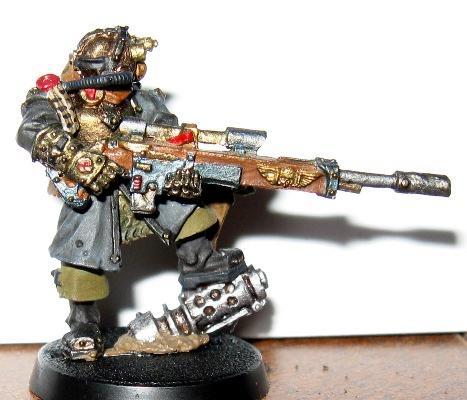 Imperial Guard, Vostroyan Sniper