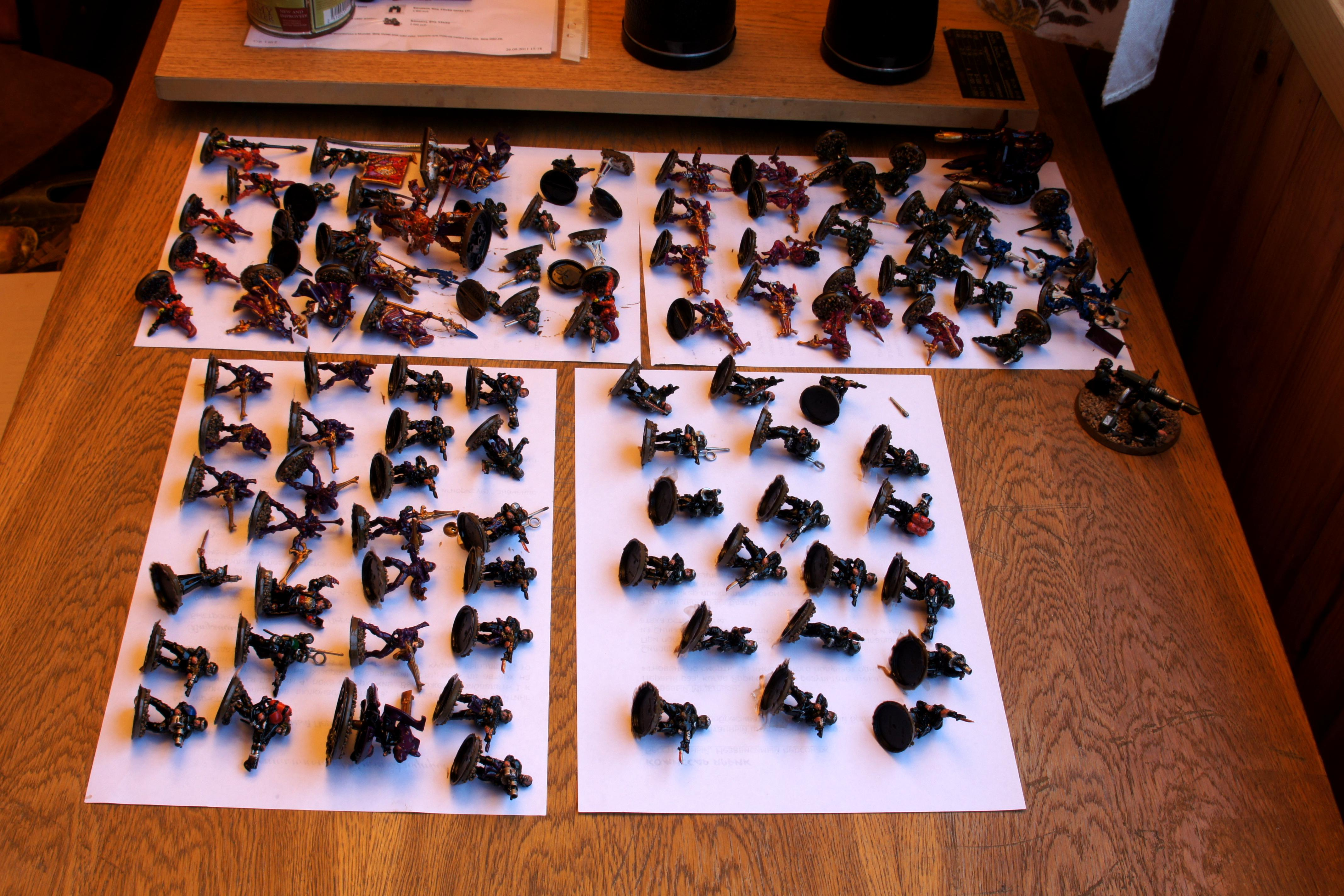 Army Painter., Astra Militarum, Eldar, Imperial Guard, Quickshade
