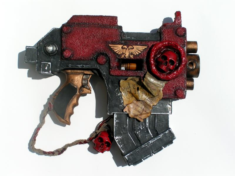 Bolter Pistol, Cosplay, Prop