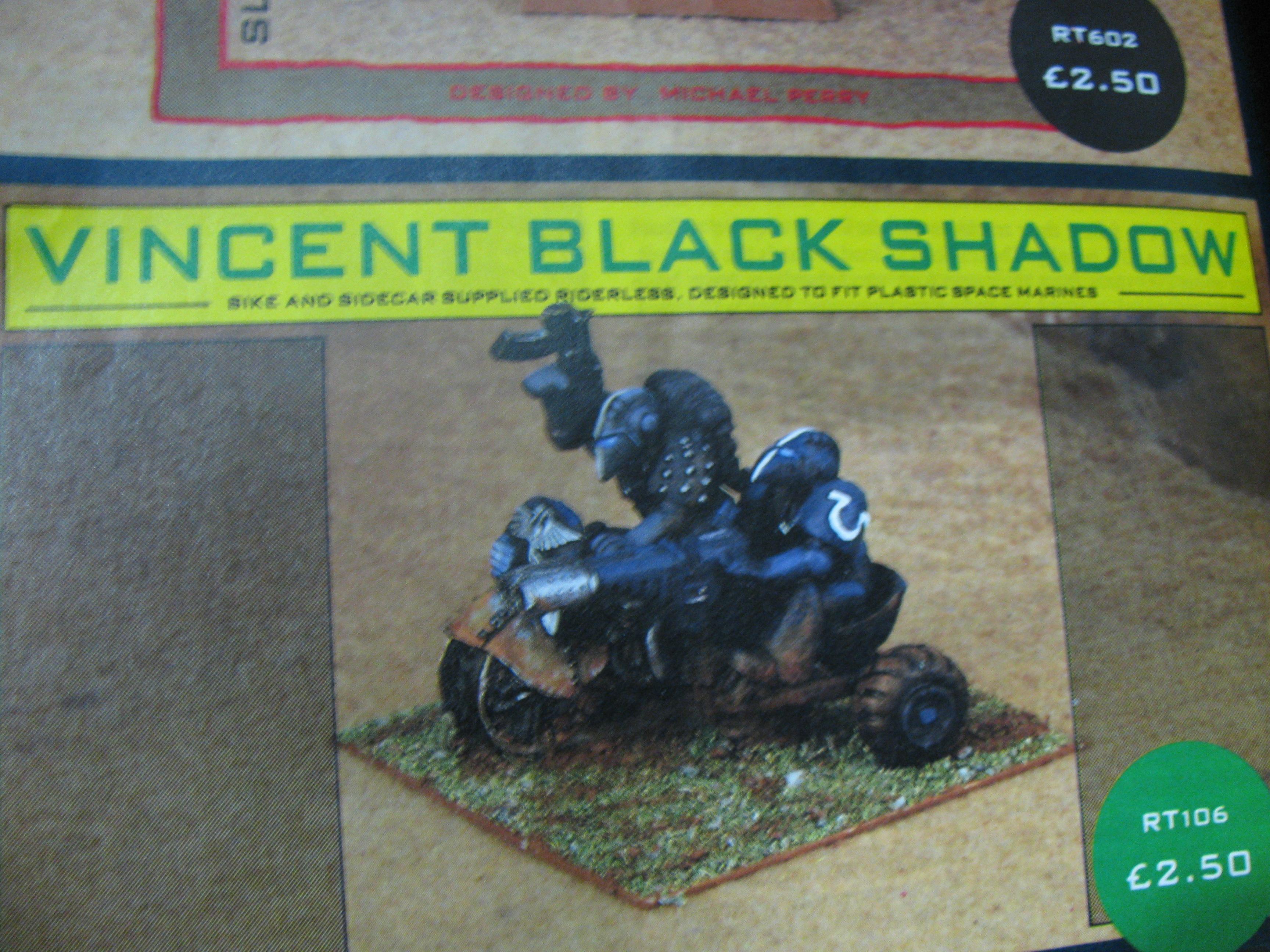 Bike, Copyright Games Workshop, Rogue Trader, Space Marines, Warhammer 40,000
