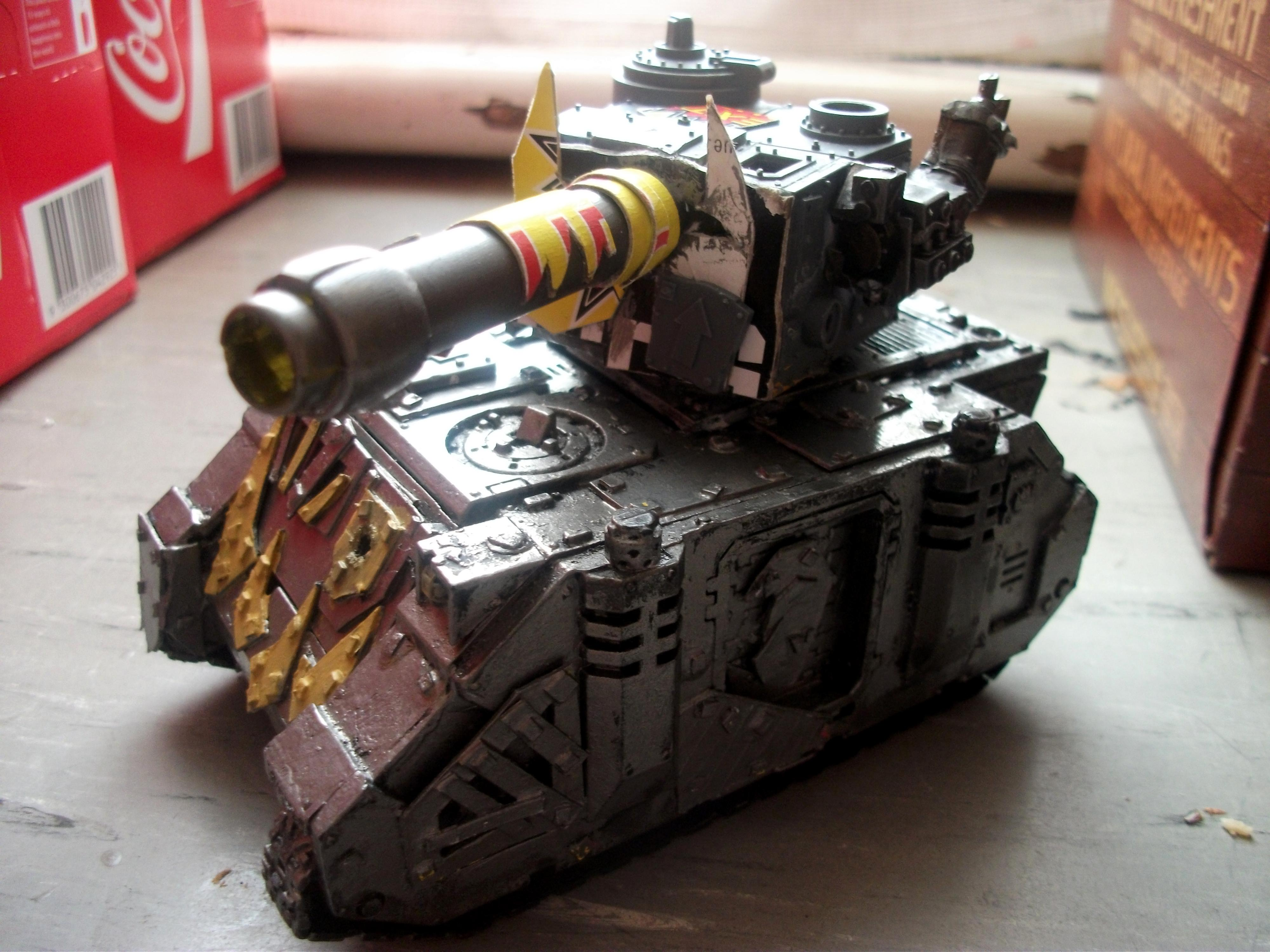 Looted Tank