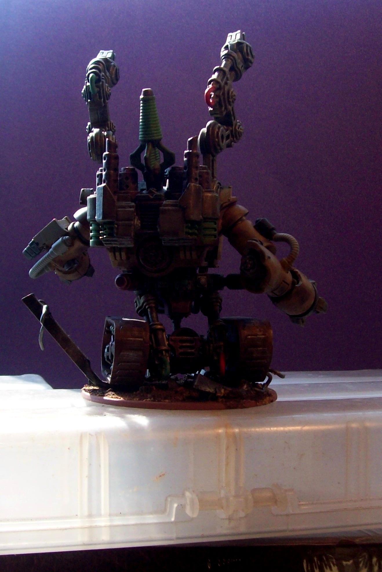 Dreadnought, Nifty, Servo Arms, Tracks, Treads