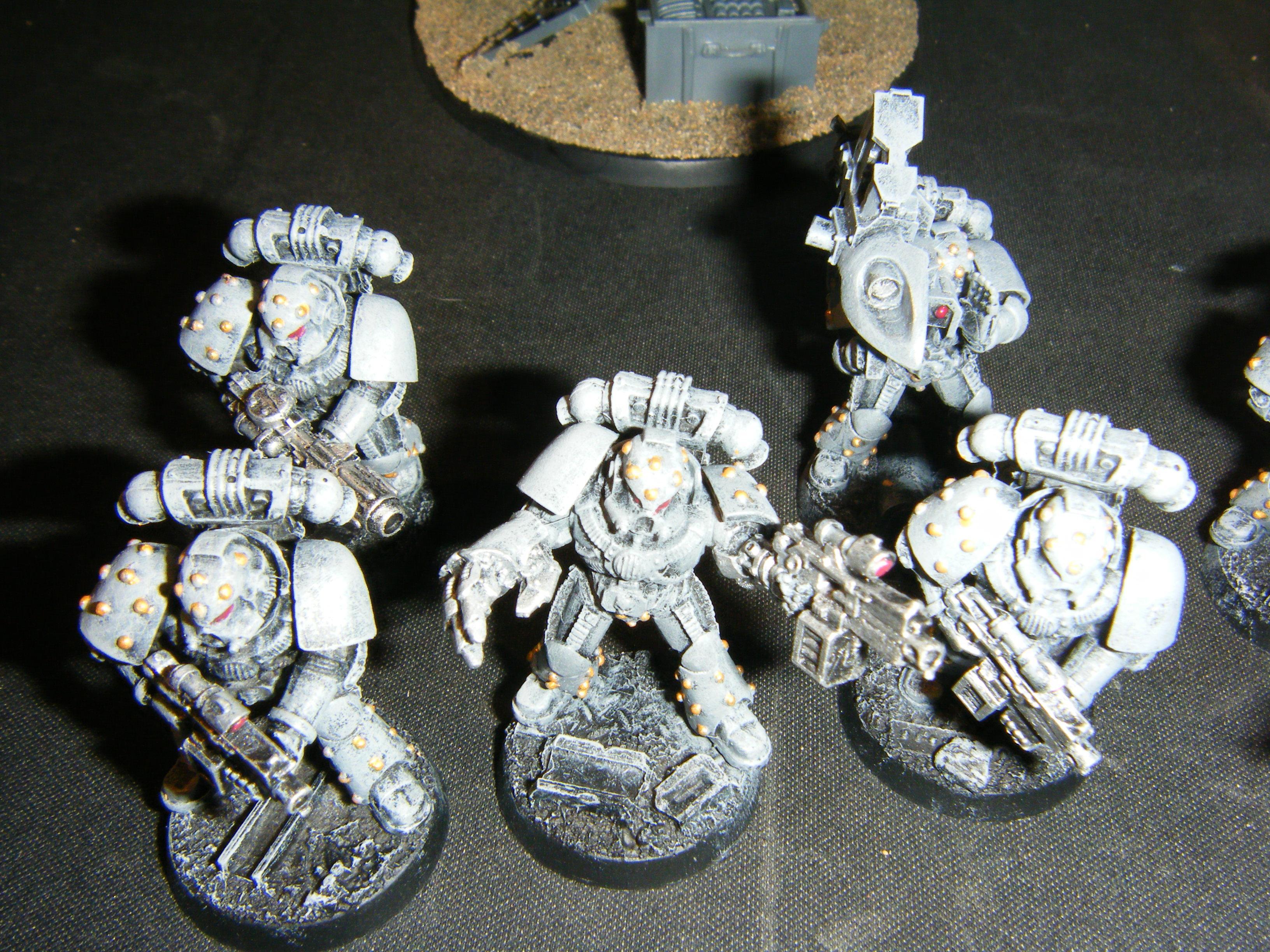 Carcharodons, Fist, Gun, Launcher, Meltagun, Missile, Power, Sterngaurd