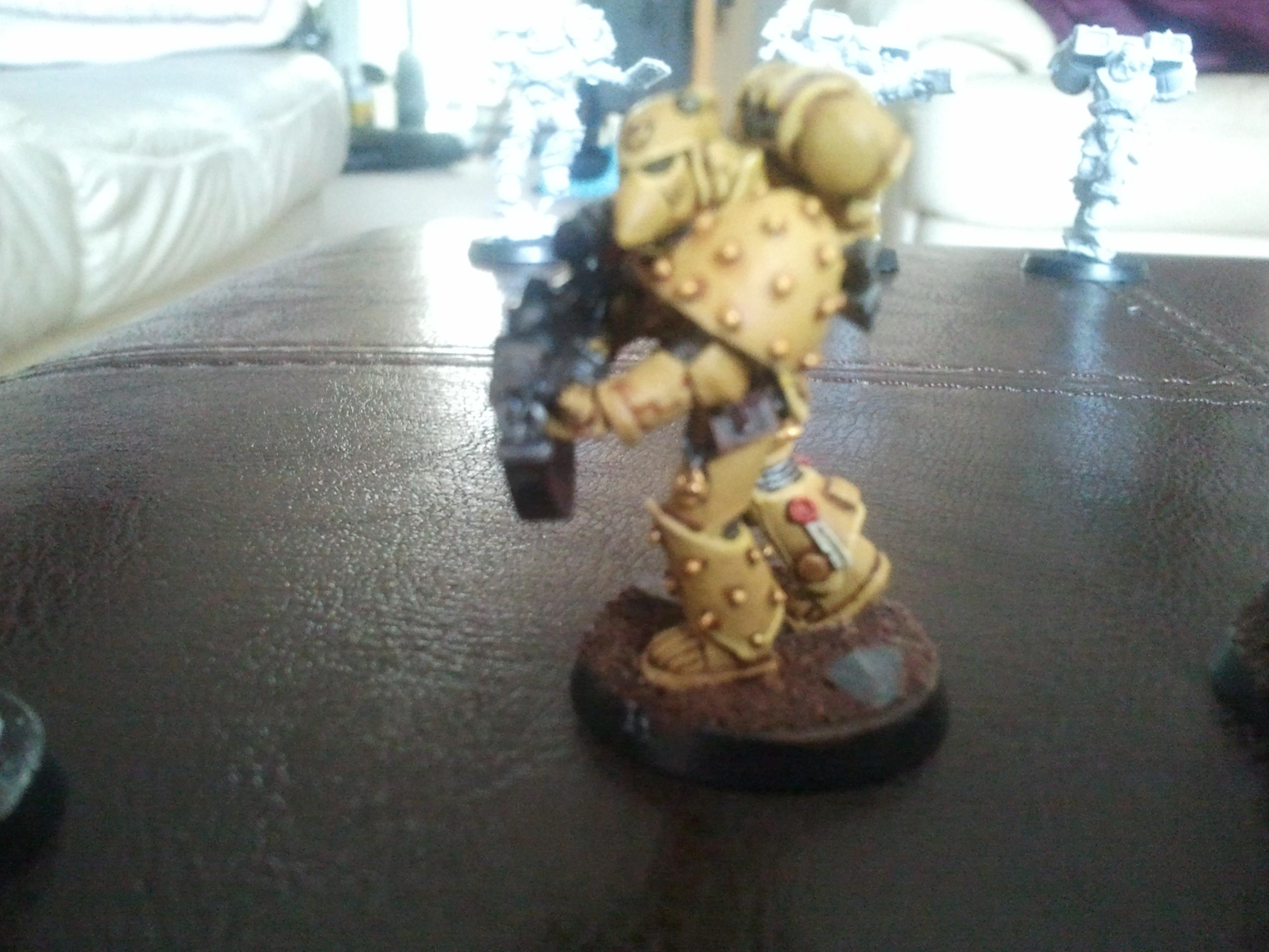Imperial Fists, Space Marines, Sternguard Veteran