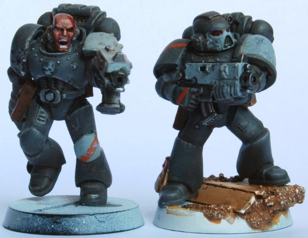 Gray, Space, Space Marines, Work In Progress