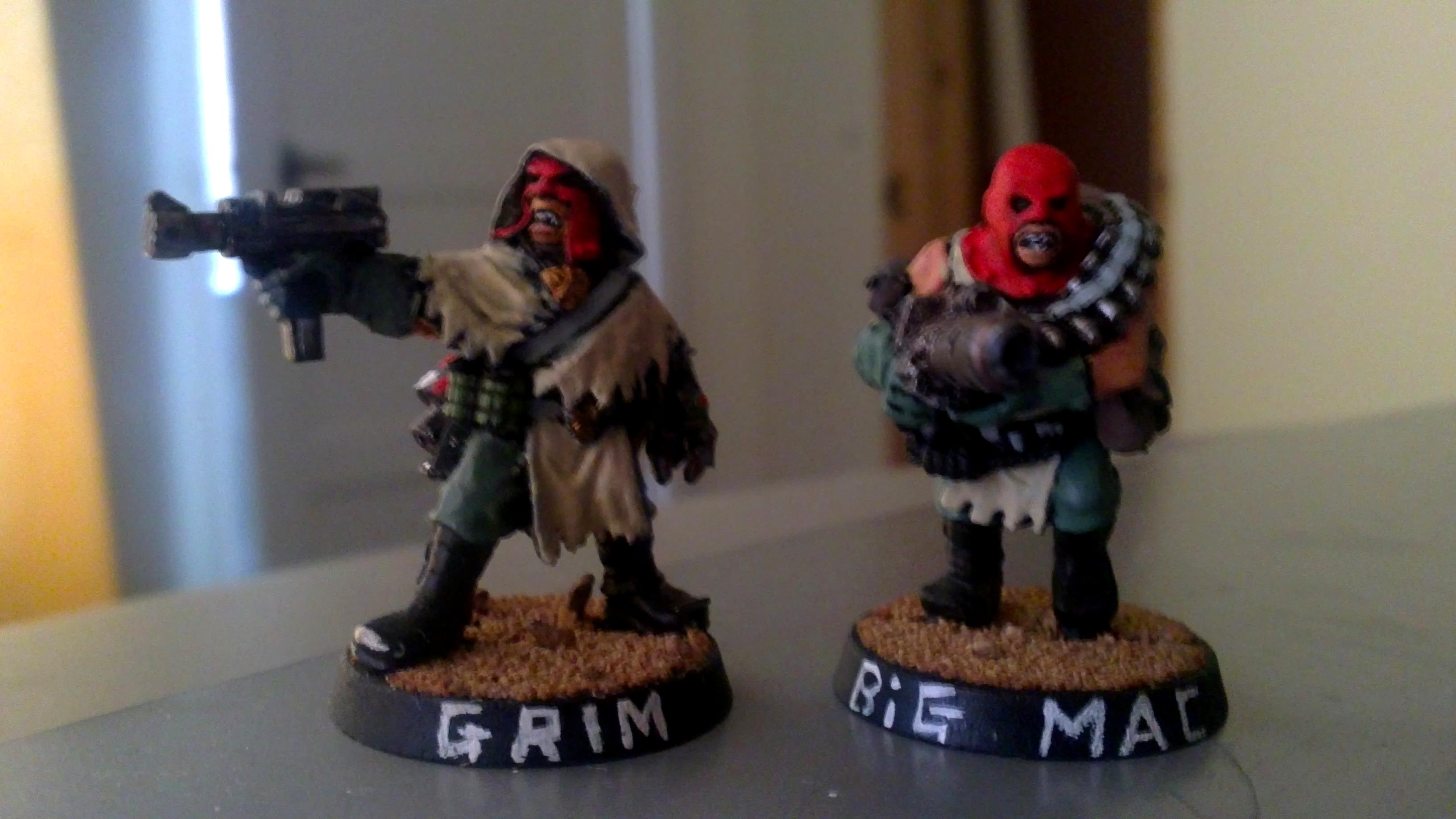gang leader 'grim' and heavy 'big mac'