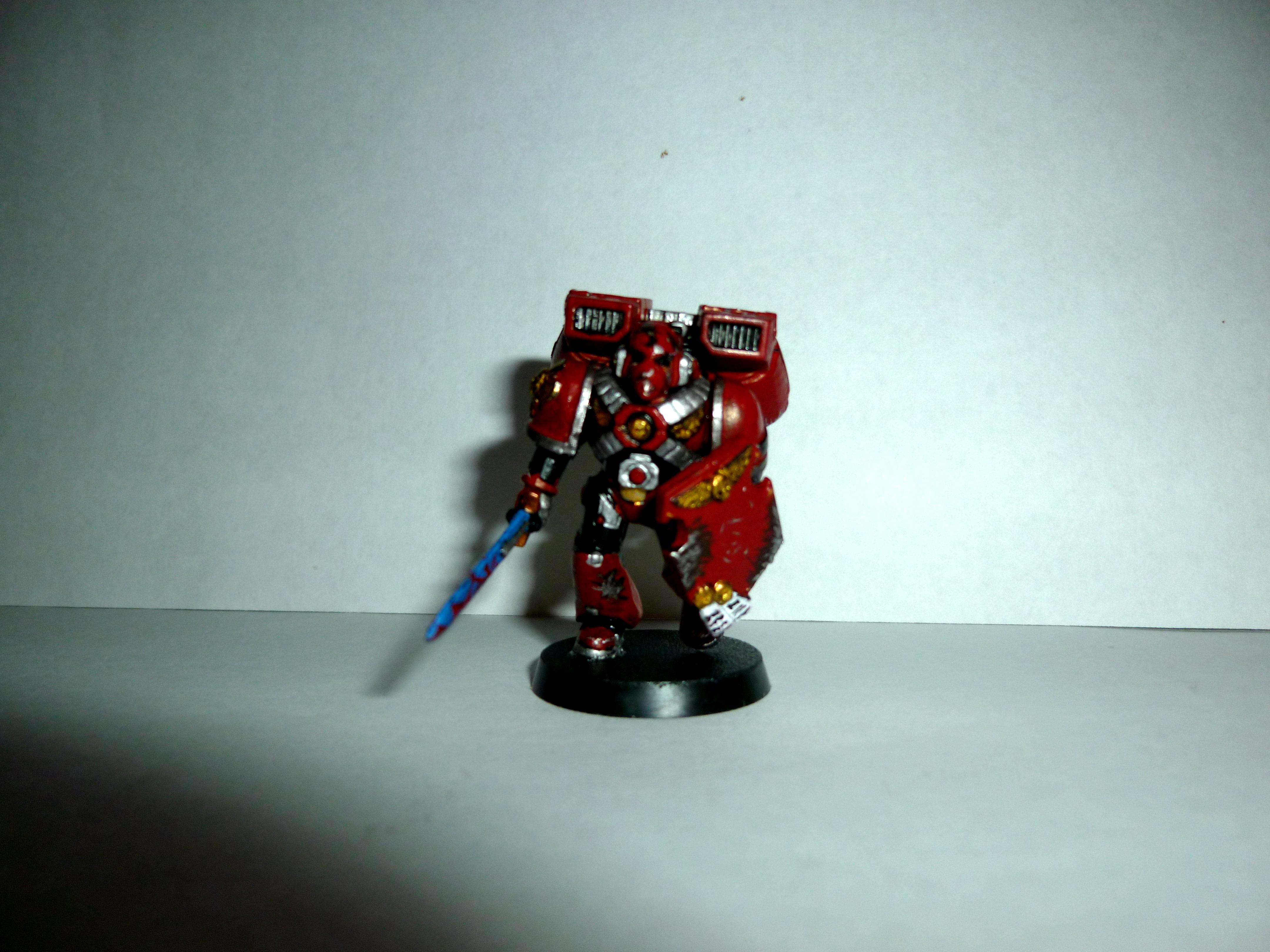 Assault Marines, Jump Pack, Power Weapon, Shield, Space Marines