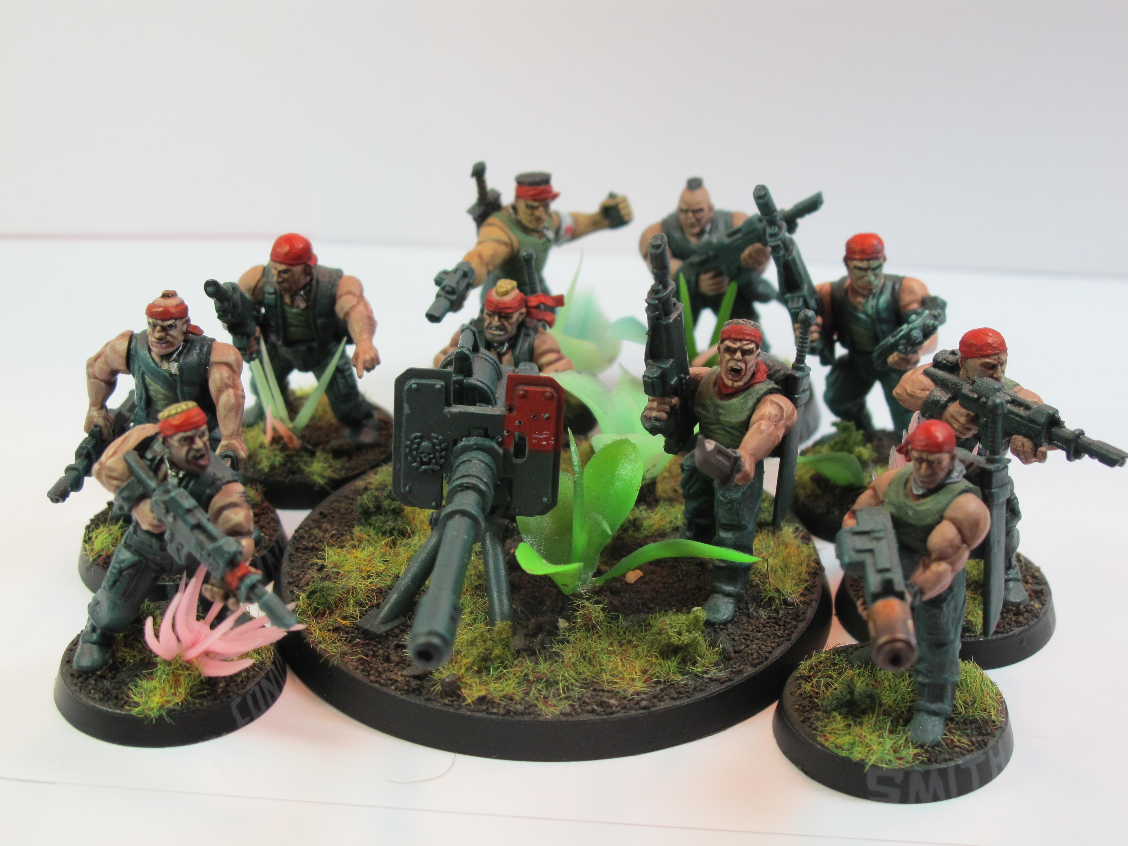 Catachan, Imperial Guard, Infantry Squad