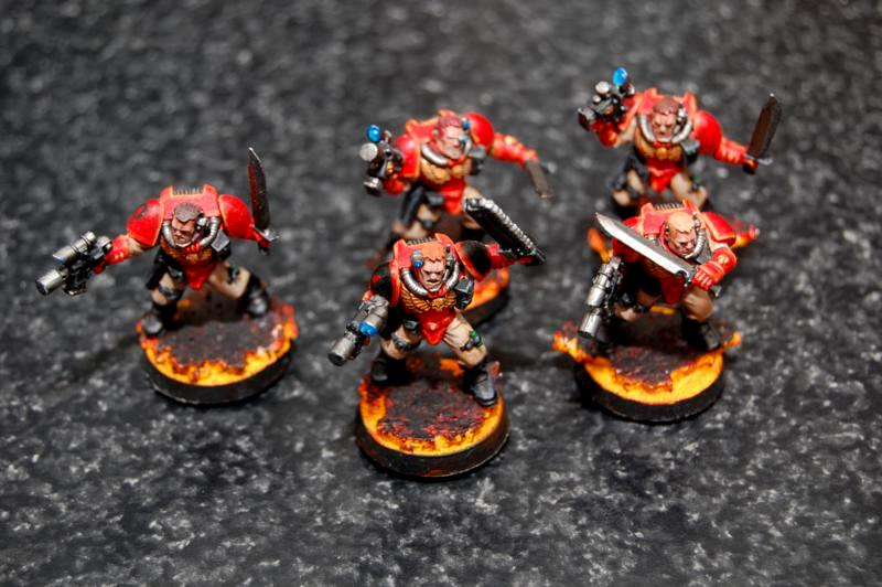Blood Angels, Close Combat, Scouts, Warhammer 40,000