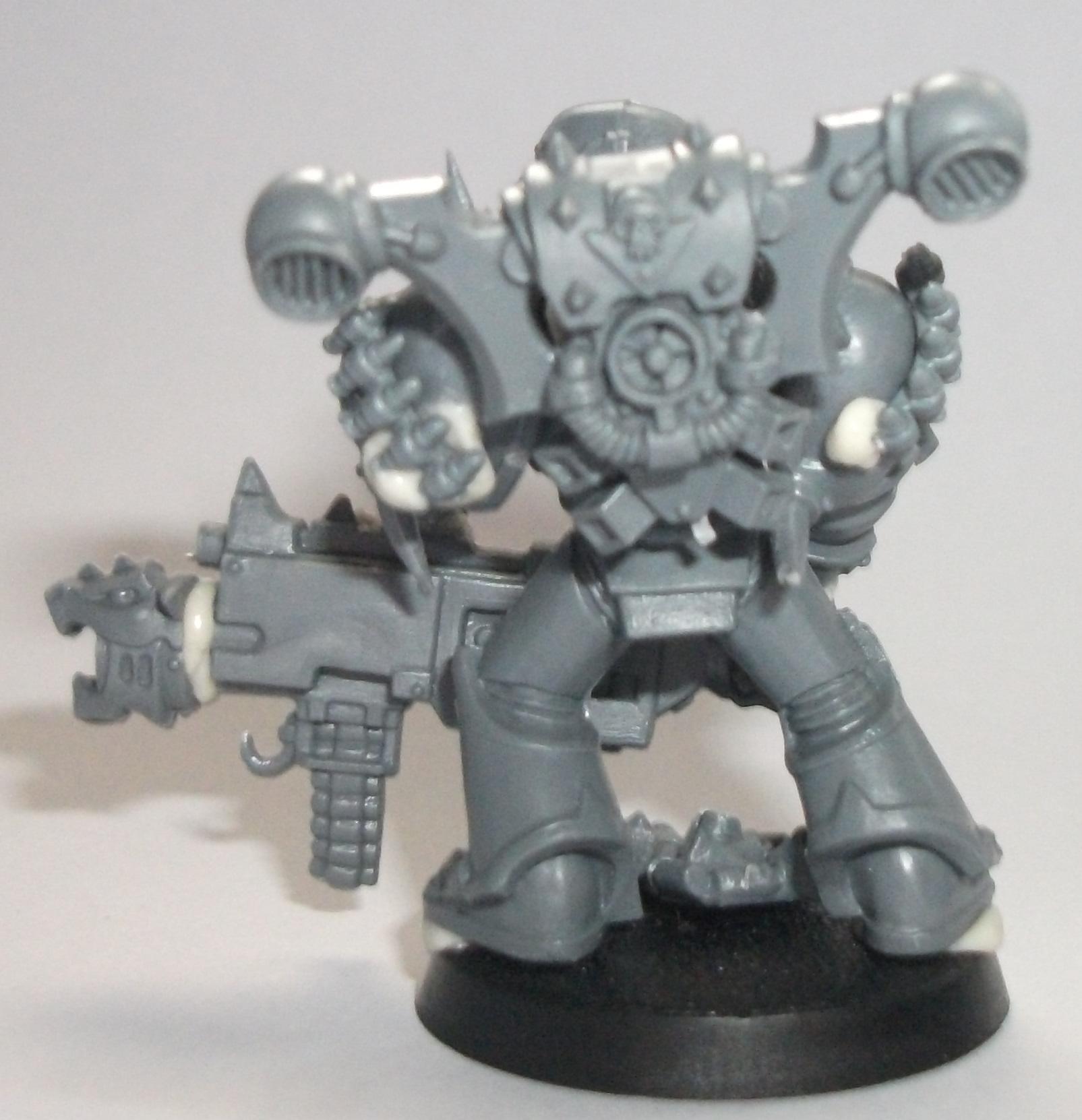 Work In Progress, Chaos Space Marine, Nickname 'Heavy'