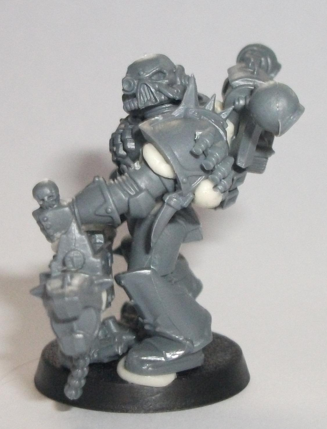 Chaos Space Marines, Work In Progress