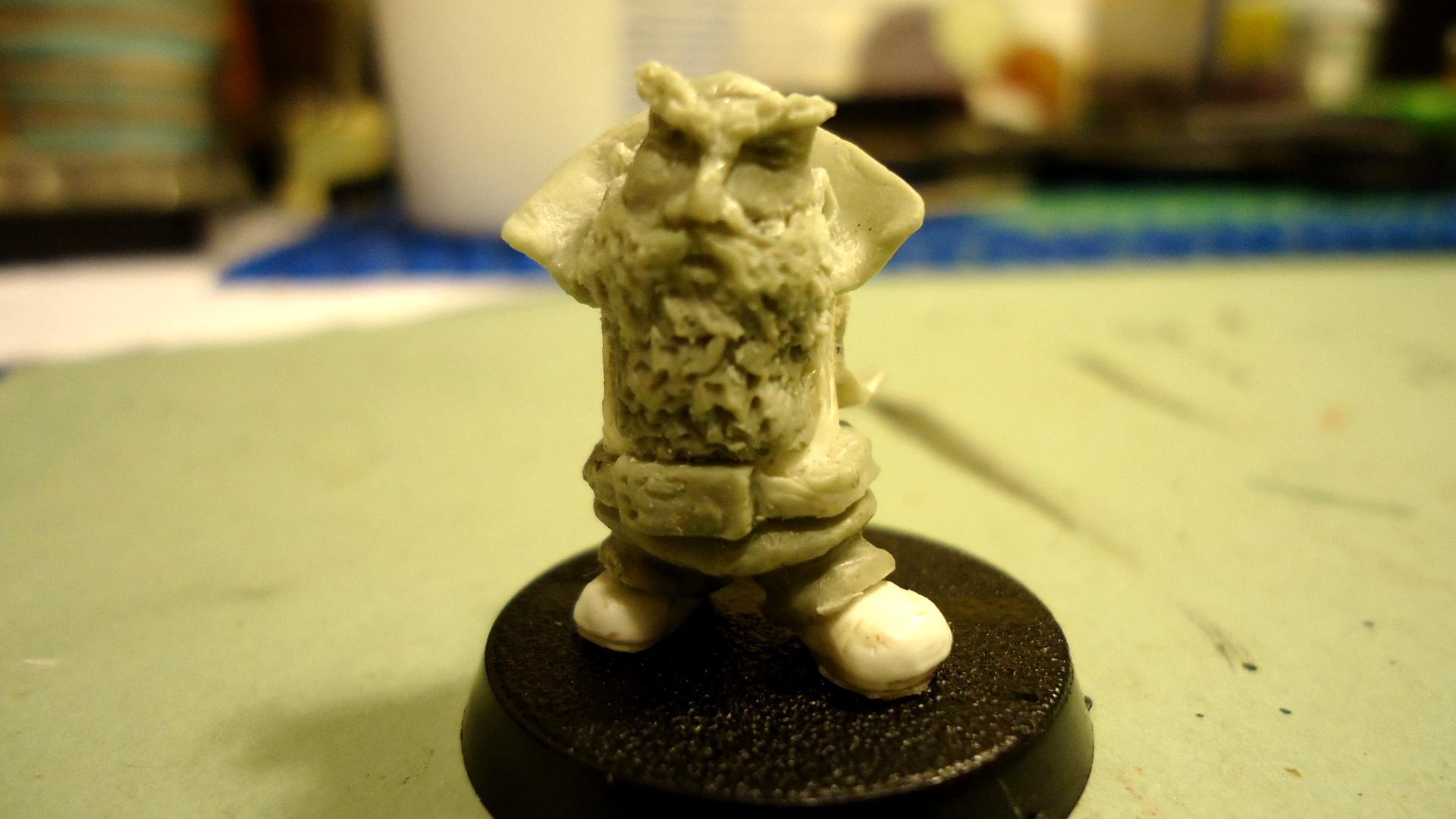 Magic Sculpt, Scratch Build, Squats
