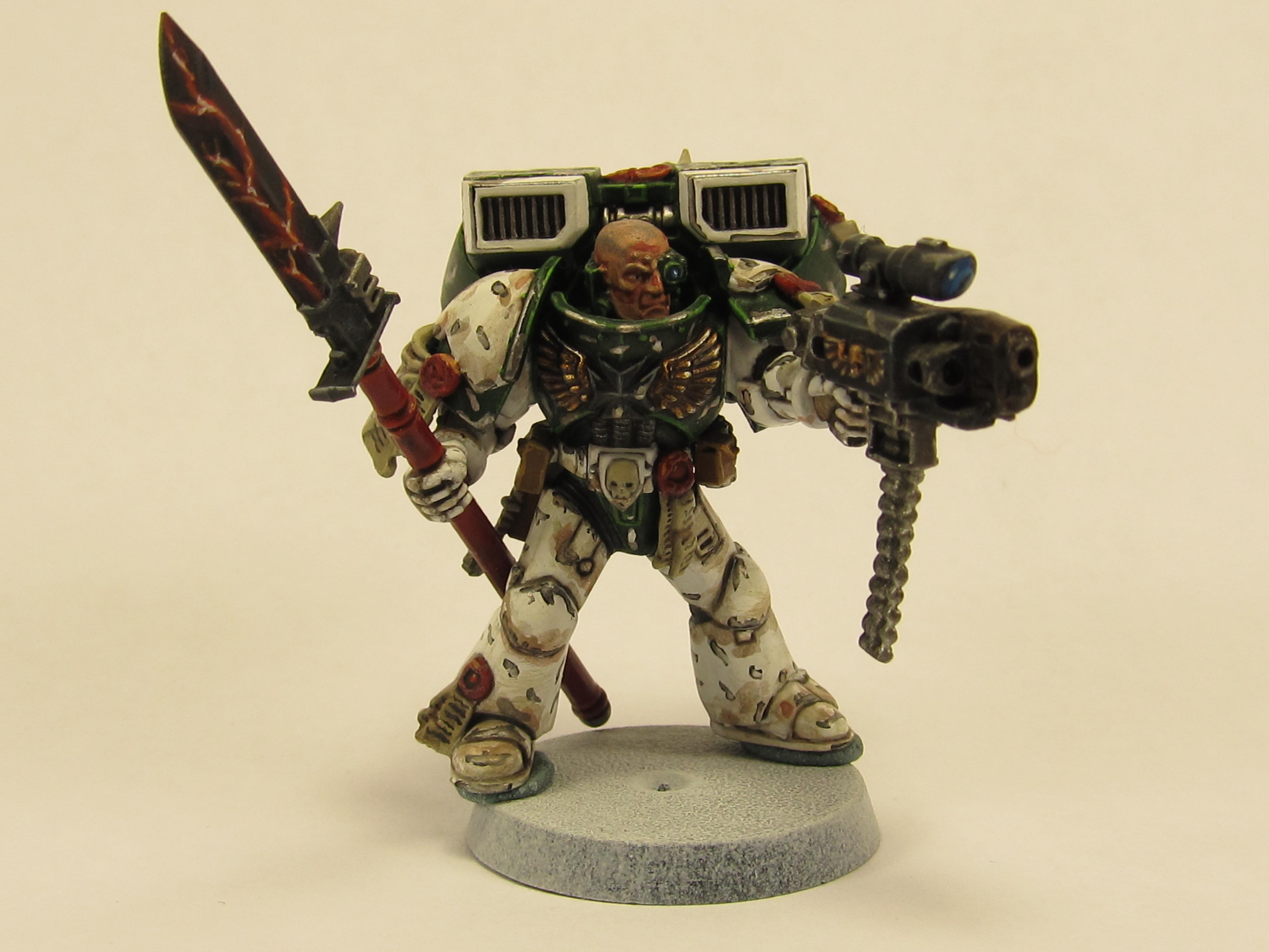 Captain, Combi Bolter, Mentors, Space Marines