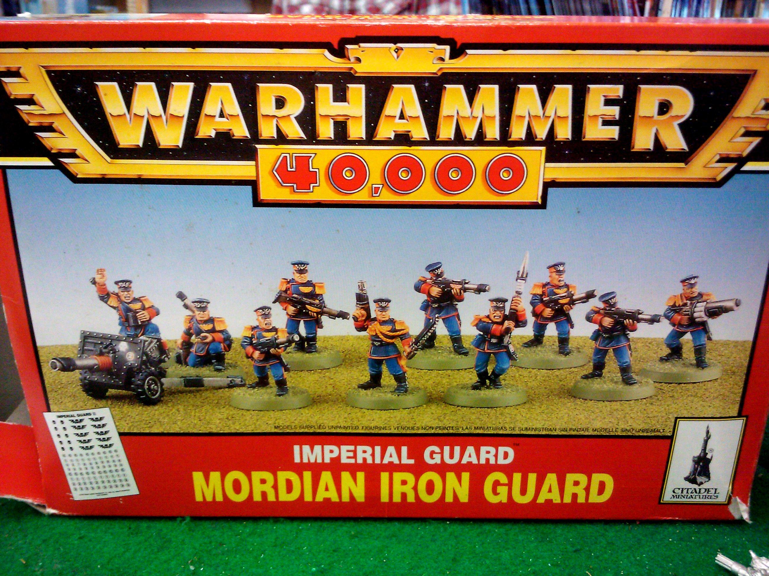 2nd Edition, Games Workshop, Imperial Guard, Mordian, Mordian Iron Guard, Warhammer 40,000