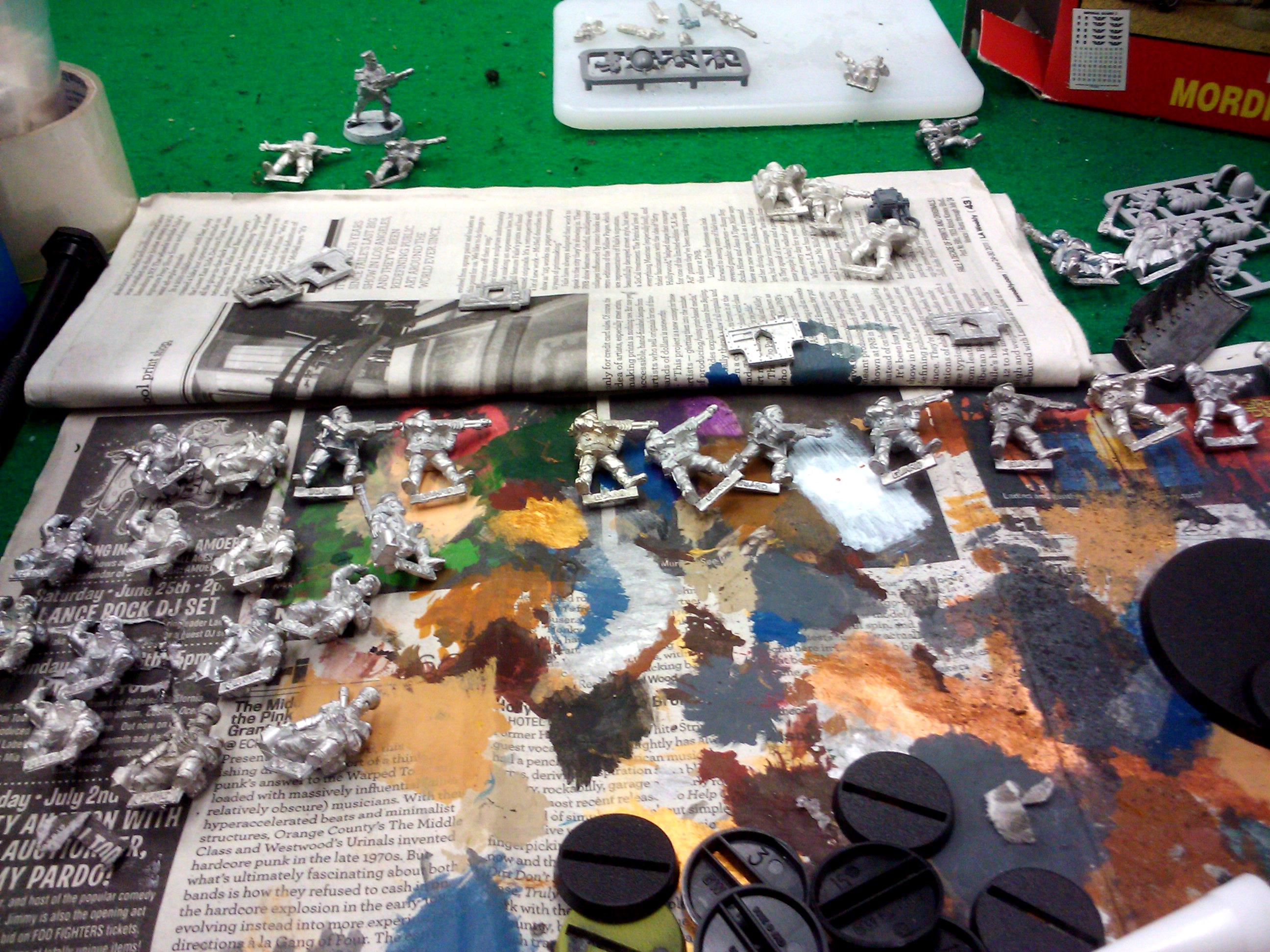 Games Workshop, Imperial Guard, Mordian, Mordian Iron Guard, Warhammer 40,000