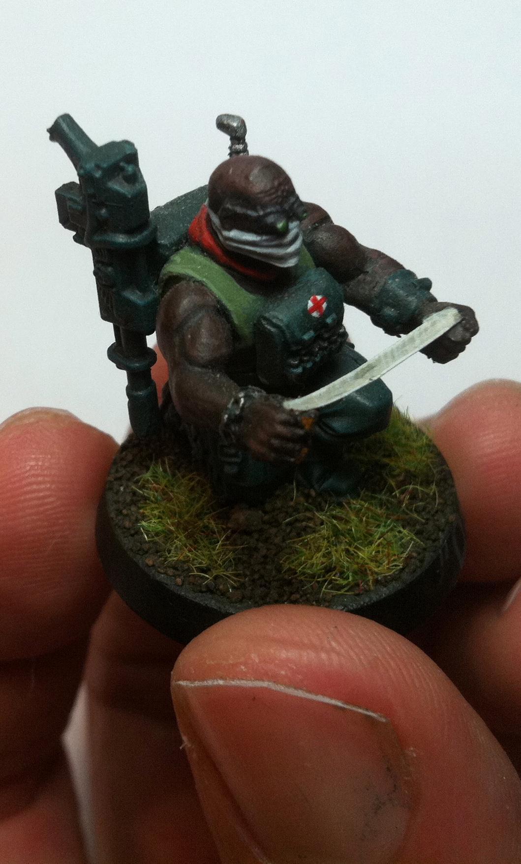 Catachan, Imperial Guard, Medic