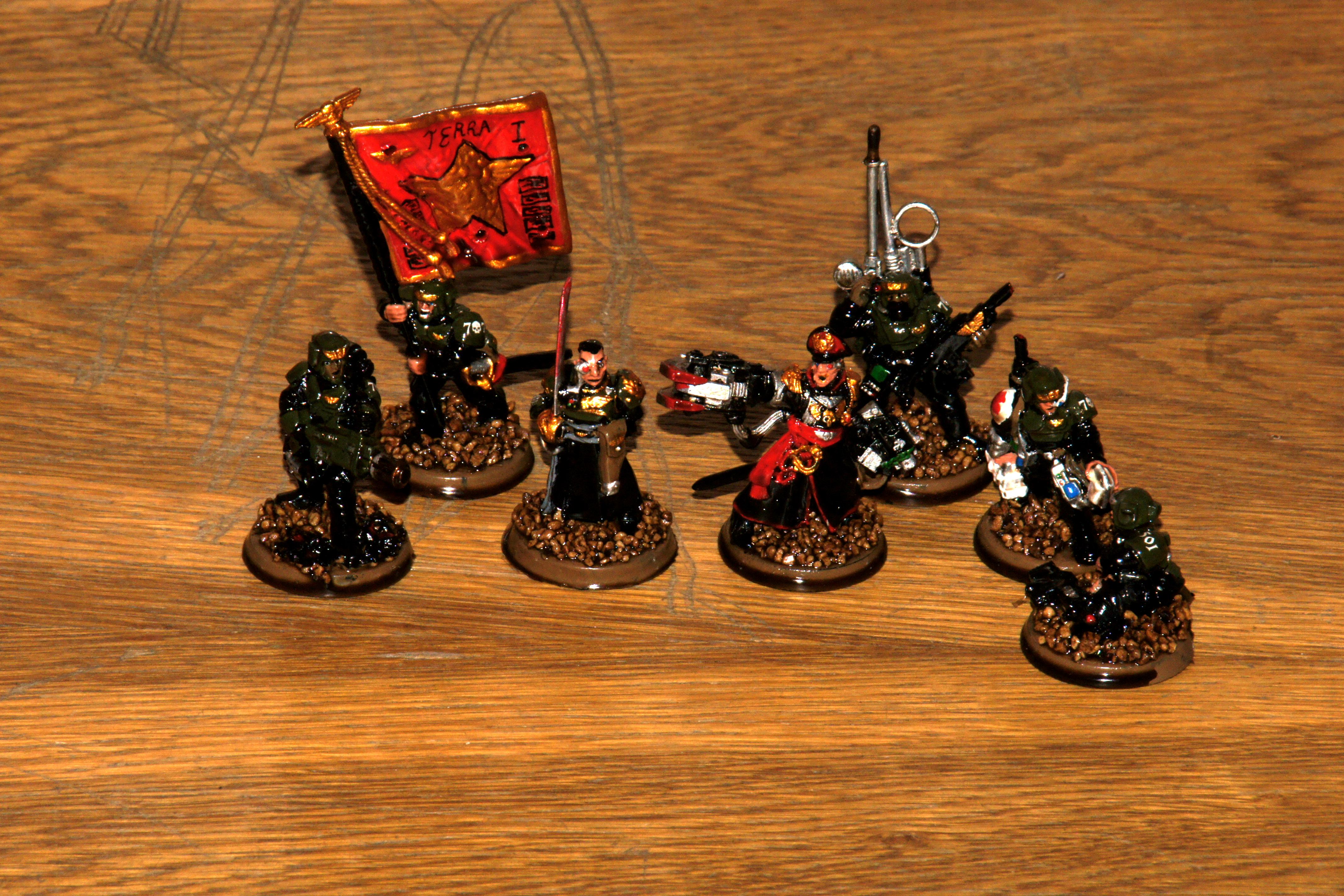 Army Painter, Astra Militarum, Command Hq, Imperial Guard, Quickshade