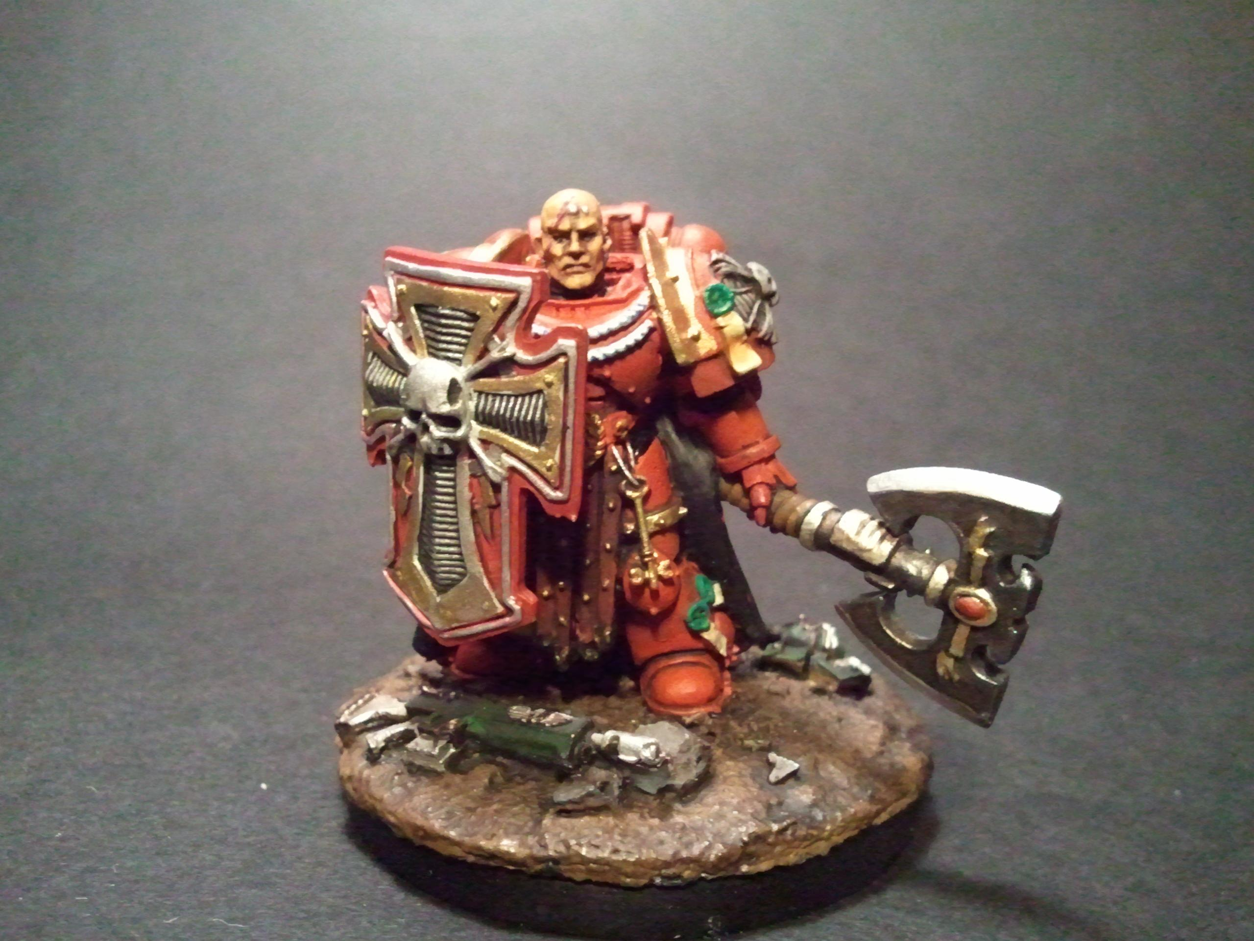 Blood Angels, Captain, Space Marines, Storm Shield, Ultra Marines