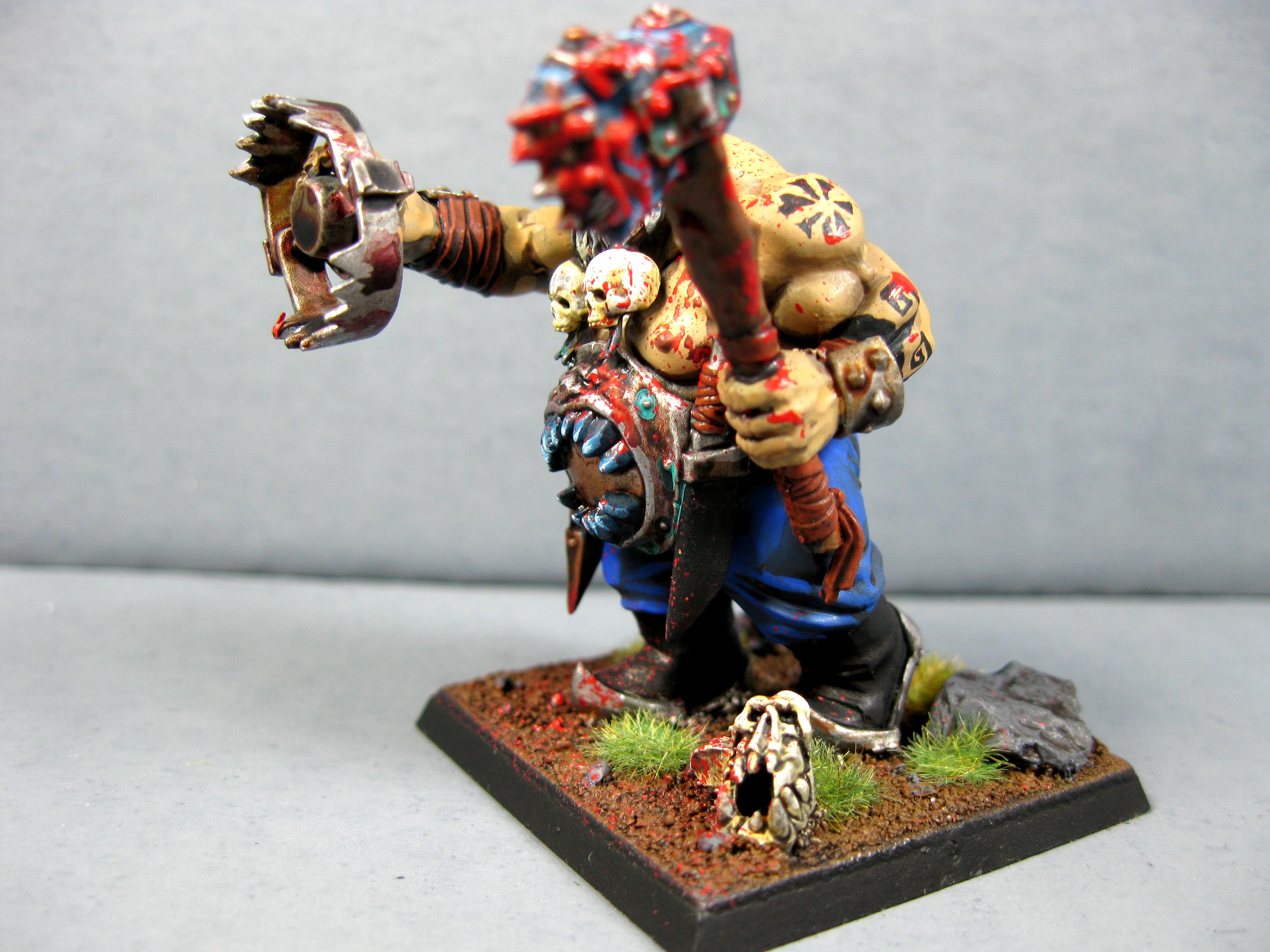Ogre Kingdomes, Ogres, Pro Painted, Warhammer Fantasy