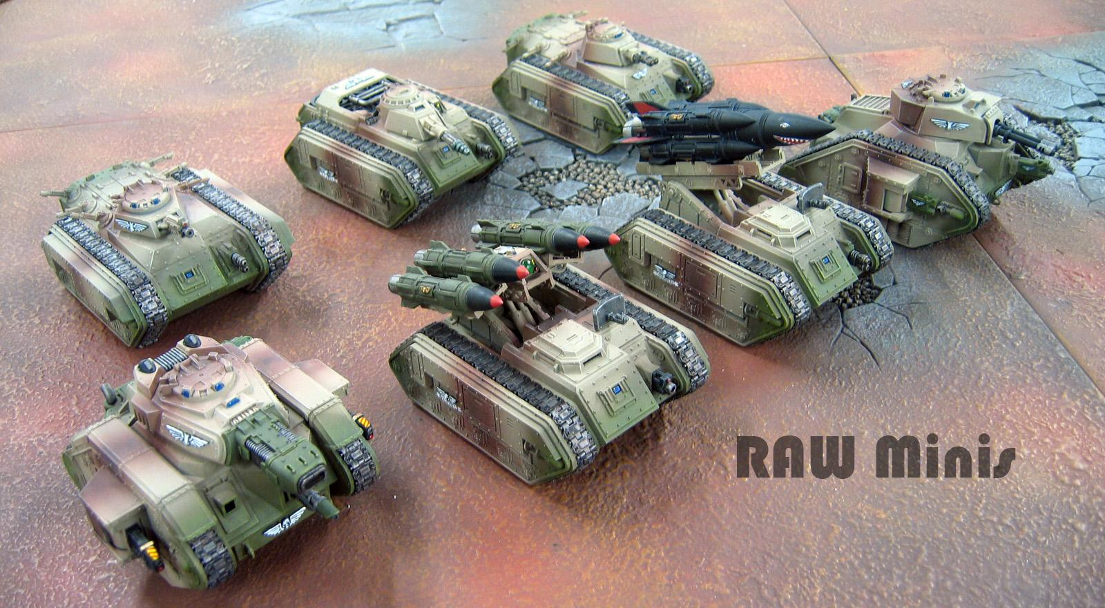 Banewolf, Cadians, Chimera, Conversion, Deathstrike, Hellhound, Imperial Guard, Leman Russ, Manticore, Painting, Tank, Vehicle, Warhammer 40,000