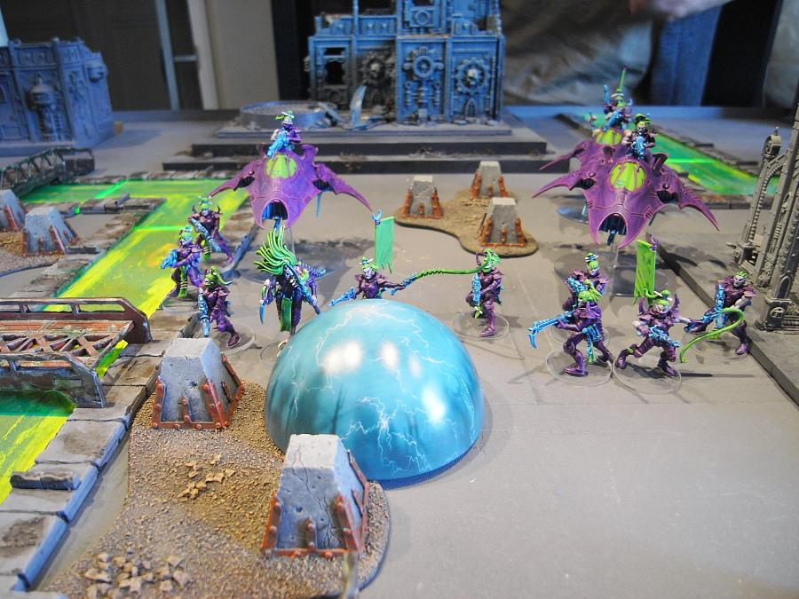 Adeptus Arbites, Battle Report, Darkeldar