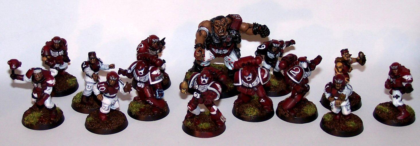 Blood Bowl, Emperor's Eagles, Imperial, Imperium, Space Marines