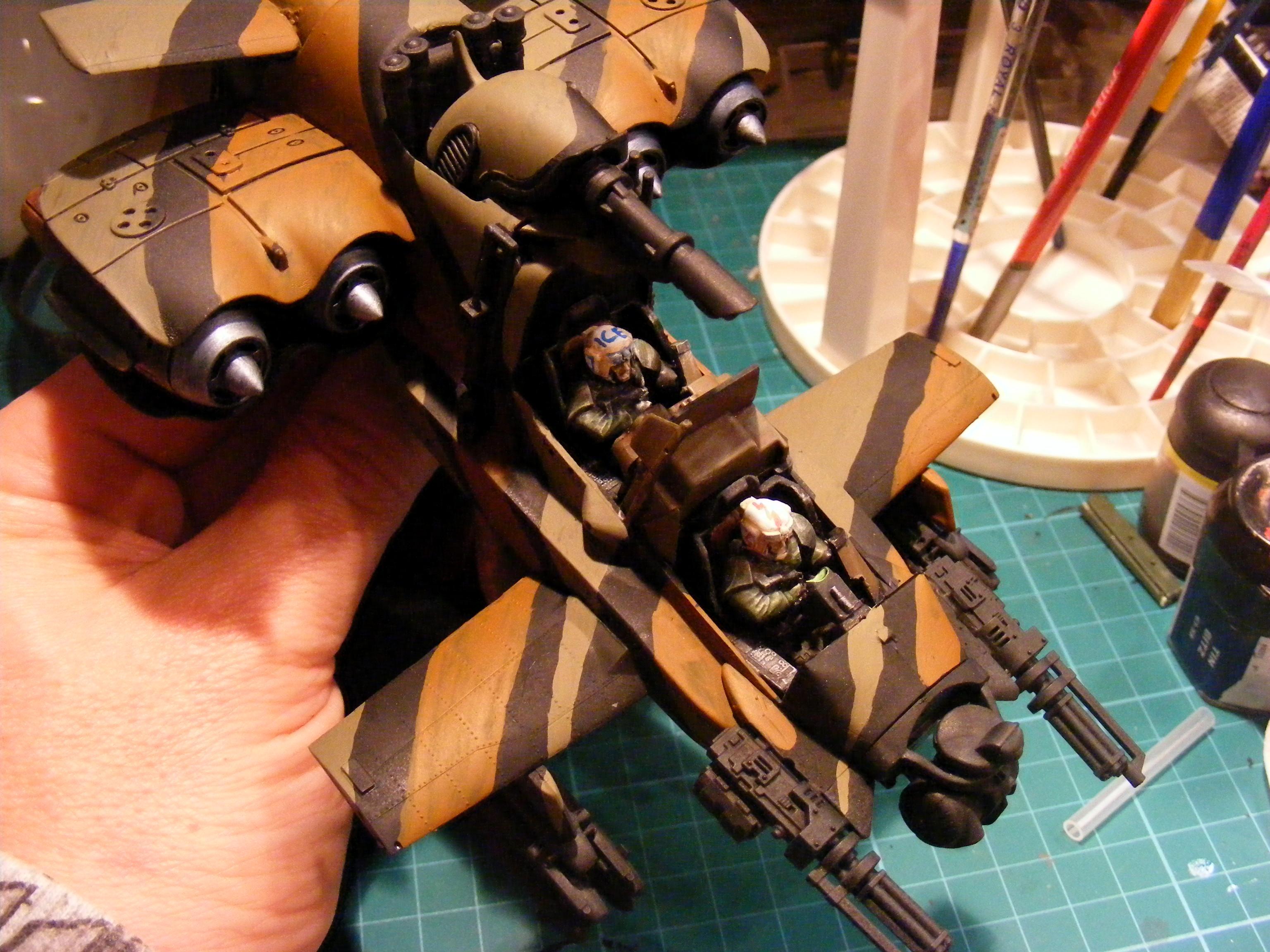 Flyer, Imperial Guard, Valkerie, Vulture, Work In Progress