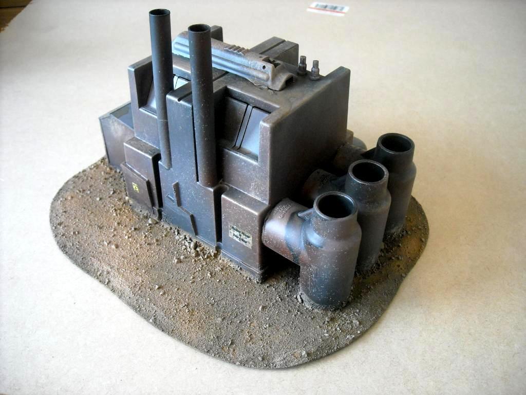 20mm, Buildings, Factory, Terrain, Warlands