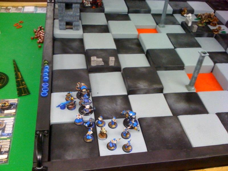 Chessboard for Warmachine