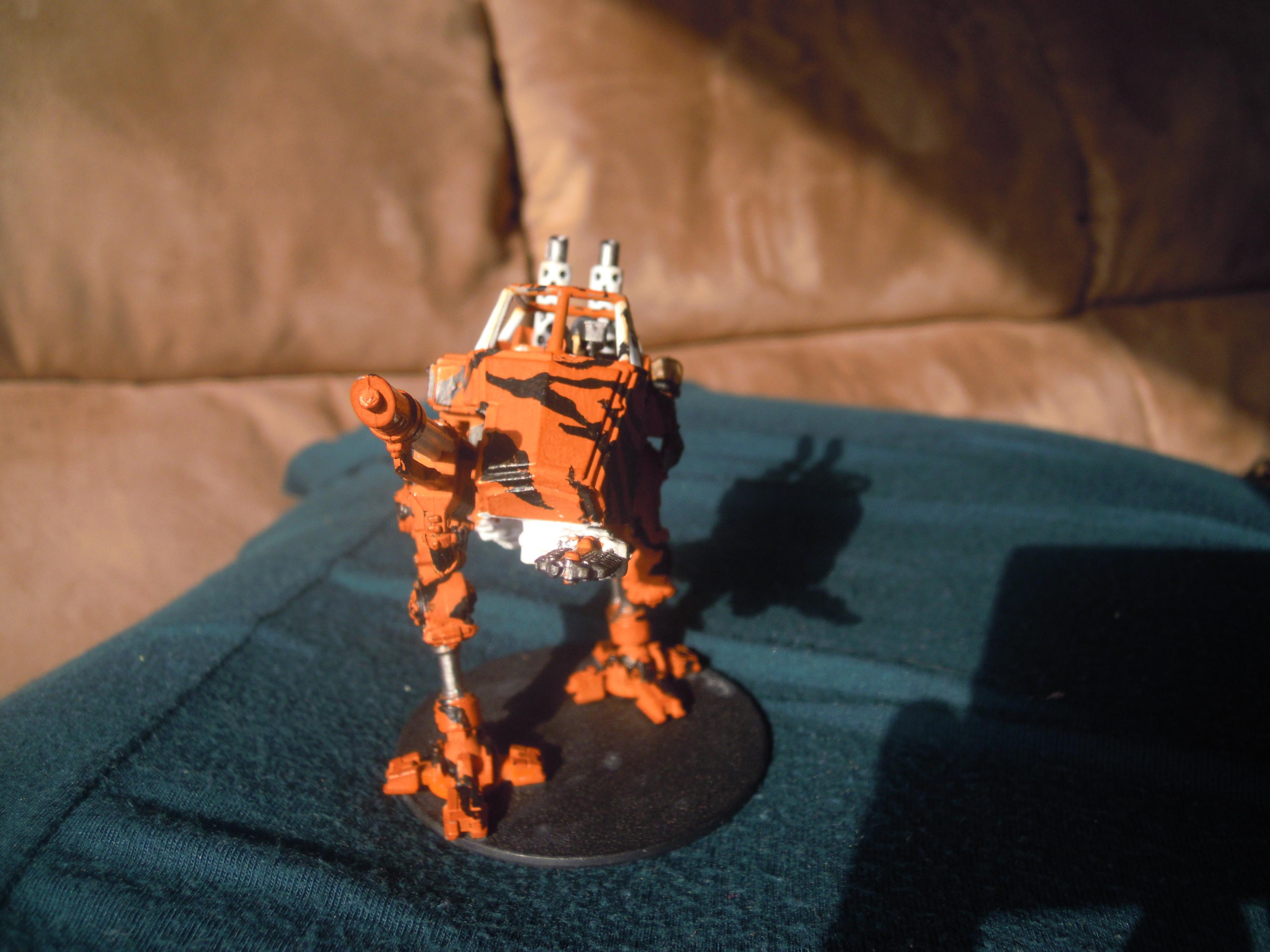 Imperial Guard, Sentinel, Tiger Stripes, Walker