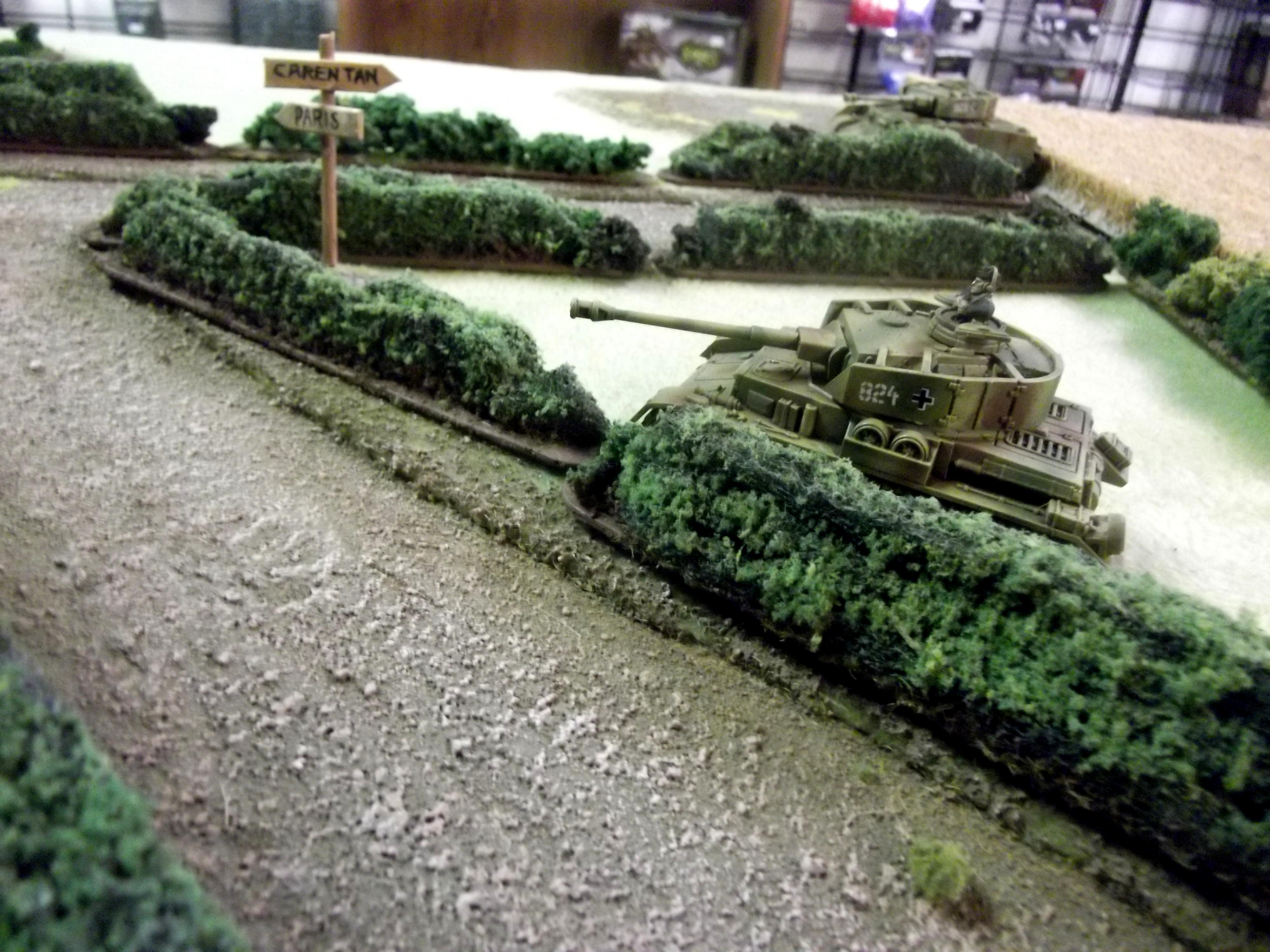 Field, Hedge, Hedgerows, Nazi, Panzer, Wermacht