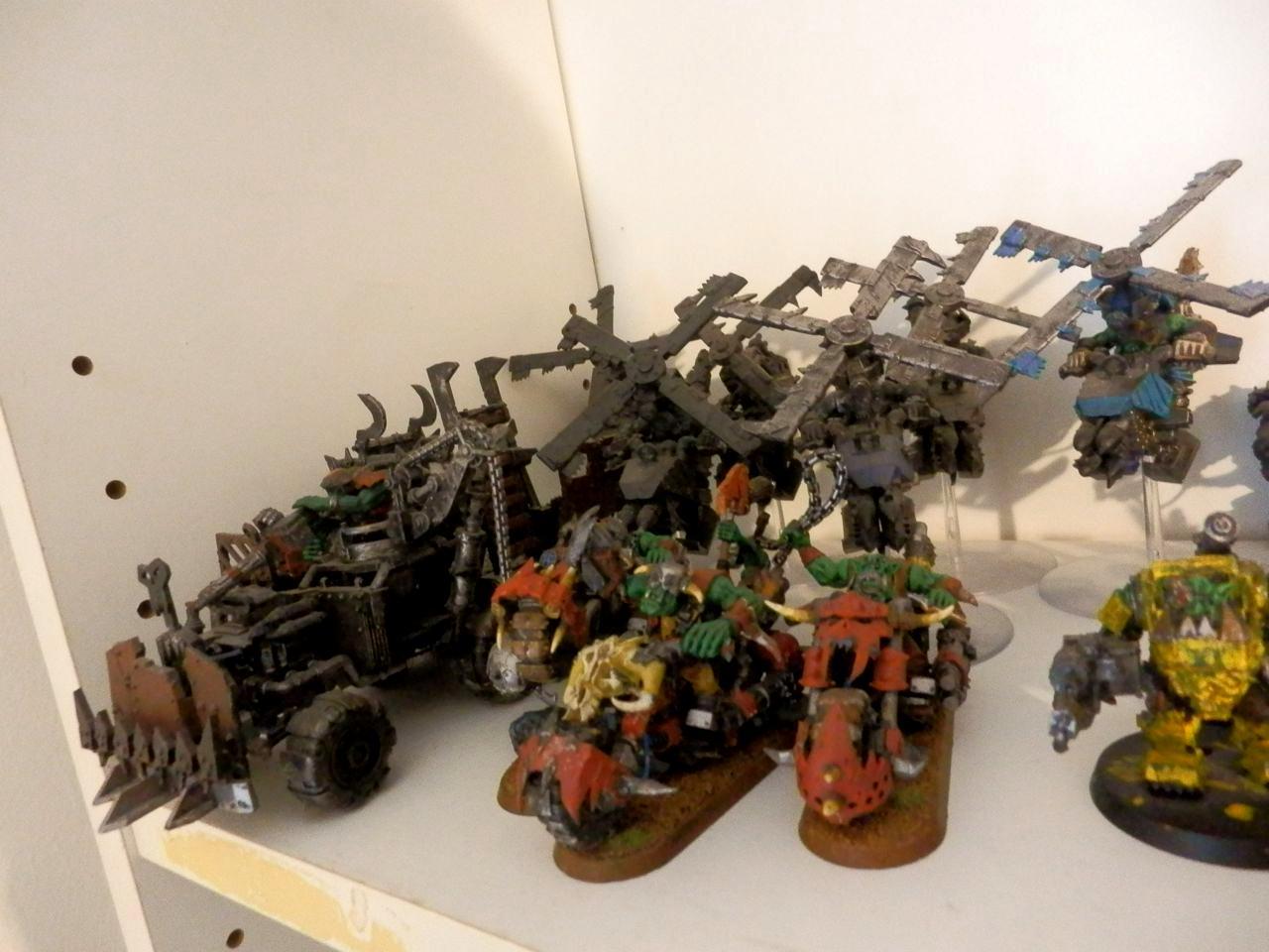 Deff Dread, Trukk, Warbikers